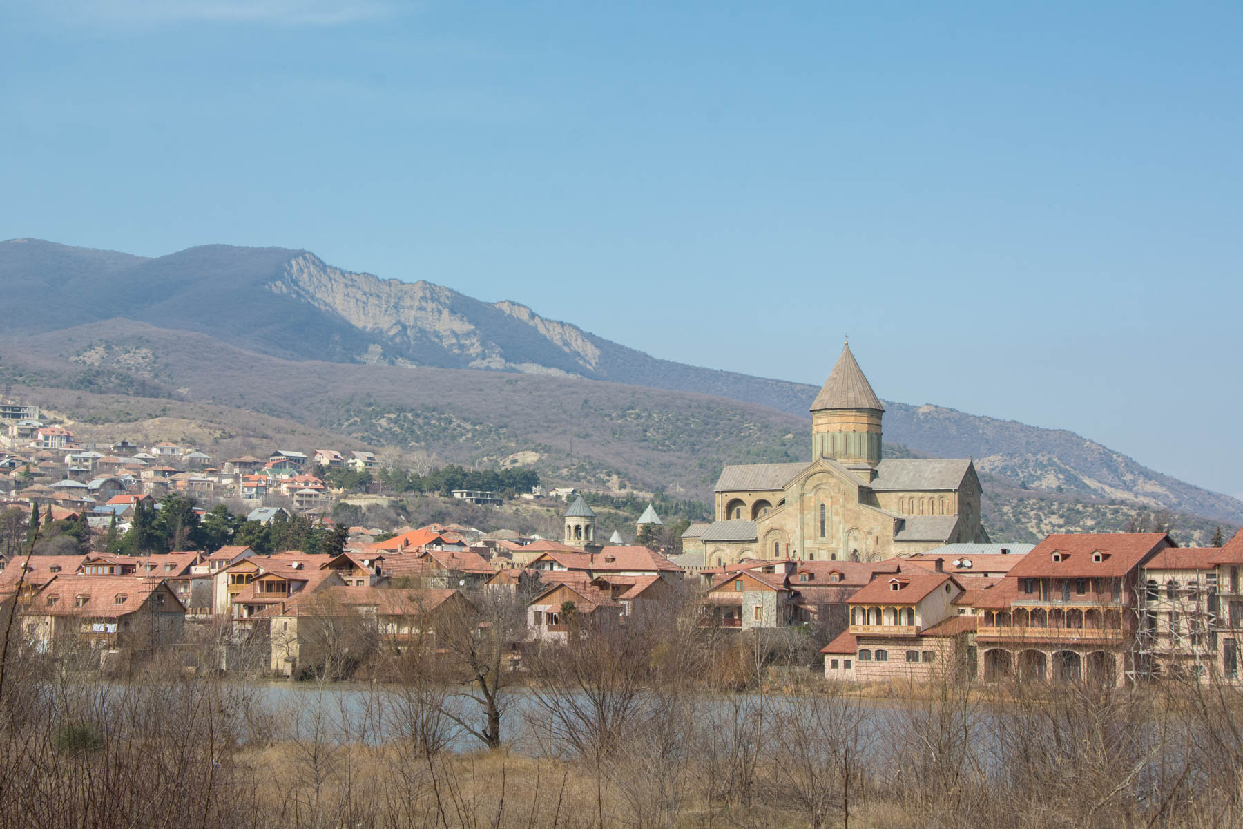 Mtskheta from across the river