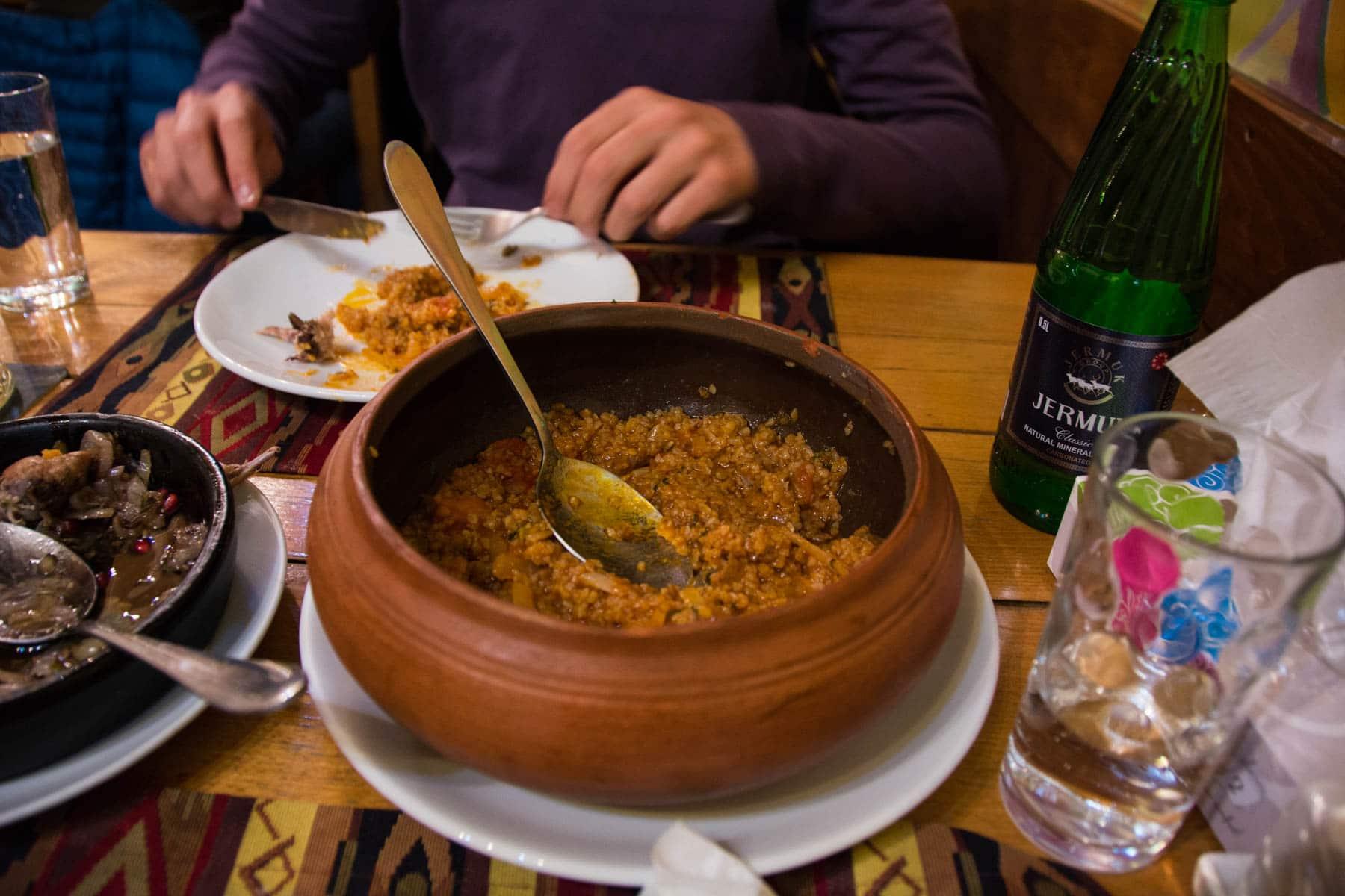 Tasty food Yerevan