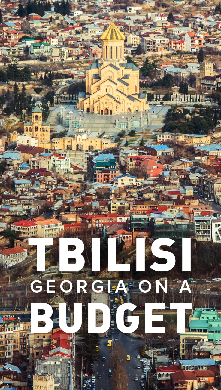 It's super easy to visit Tbilisi, Georgia on a budget. Contrary to the idea that it's a post-Soviet wasteland, Tbilisi is actually a lively city with friendly people, cheap food and booze, and super budget accommodations. Read on to find out more reasons Tbilisi is a budget traveler's dream!