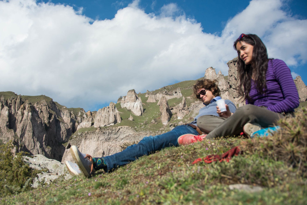 How to get to Tatev from Goris, Armenia - Picnicking in the mountains of Goris, Armenia