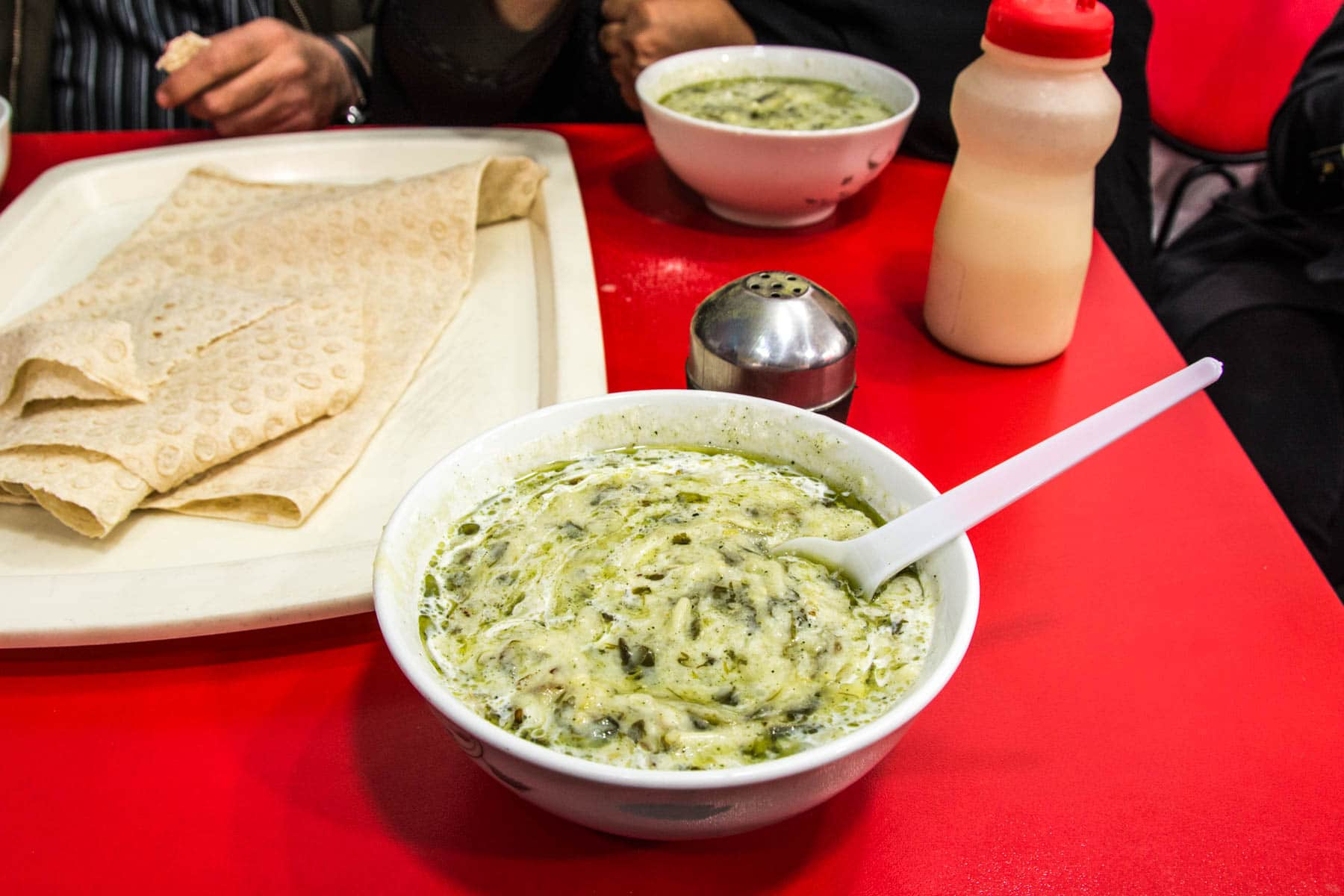 Tales of Iranian hospitality: Ash, a traditional Iranian noodle soup in Tabriz, Iran