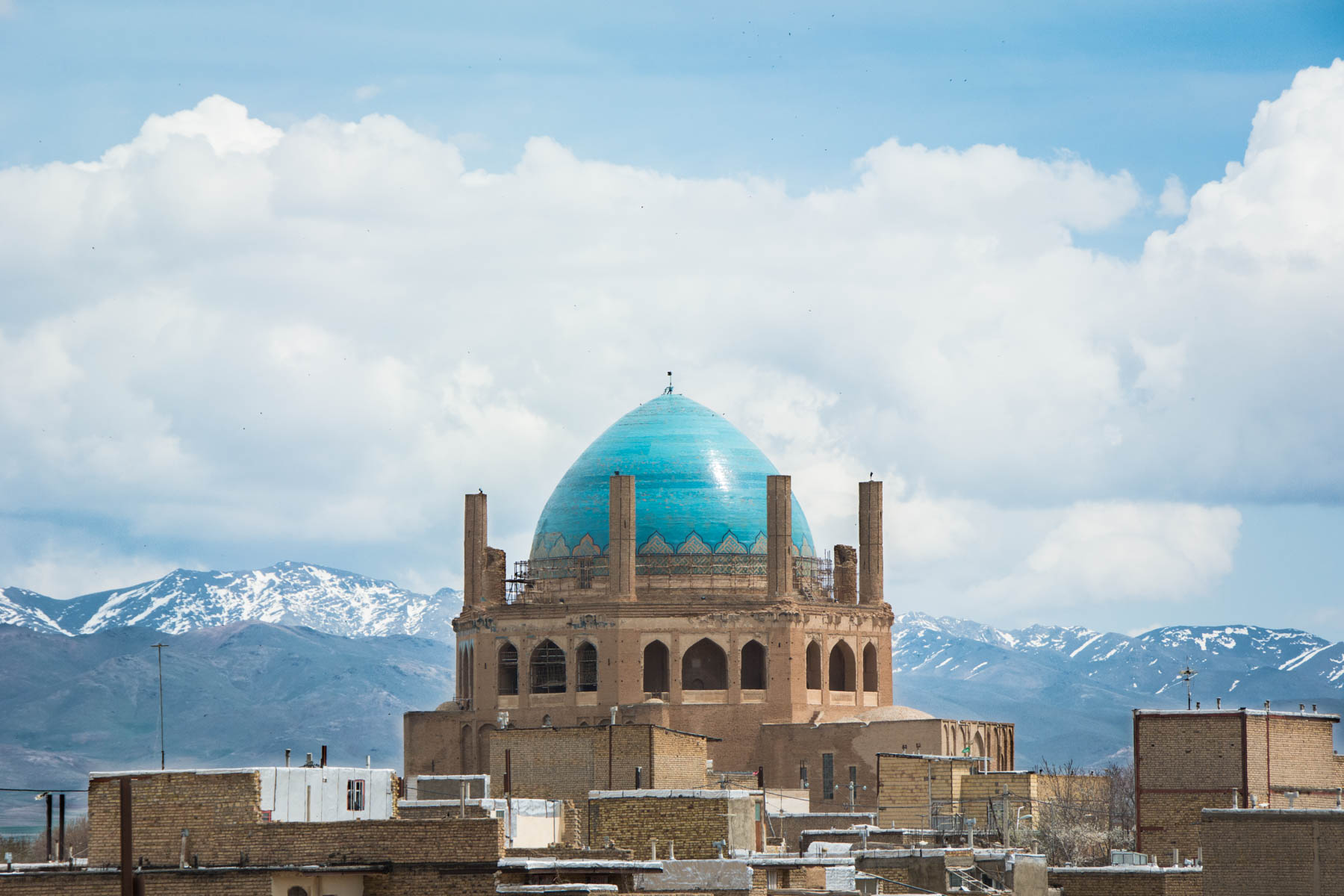 Soltaniyeh dome, a famous mausoleum in Iran