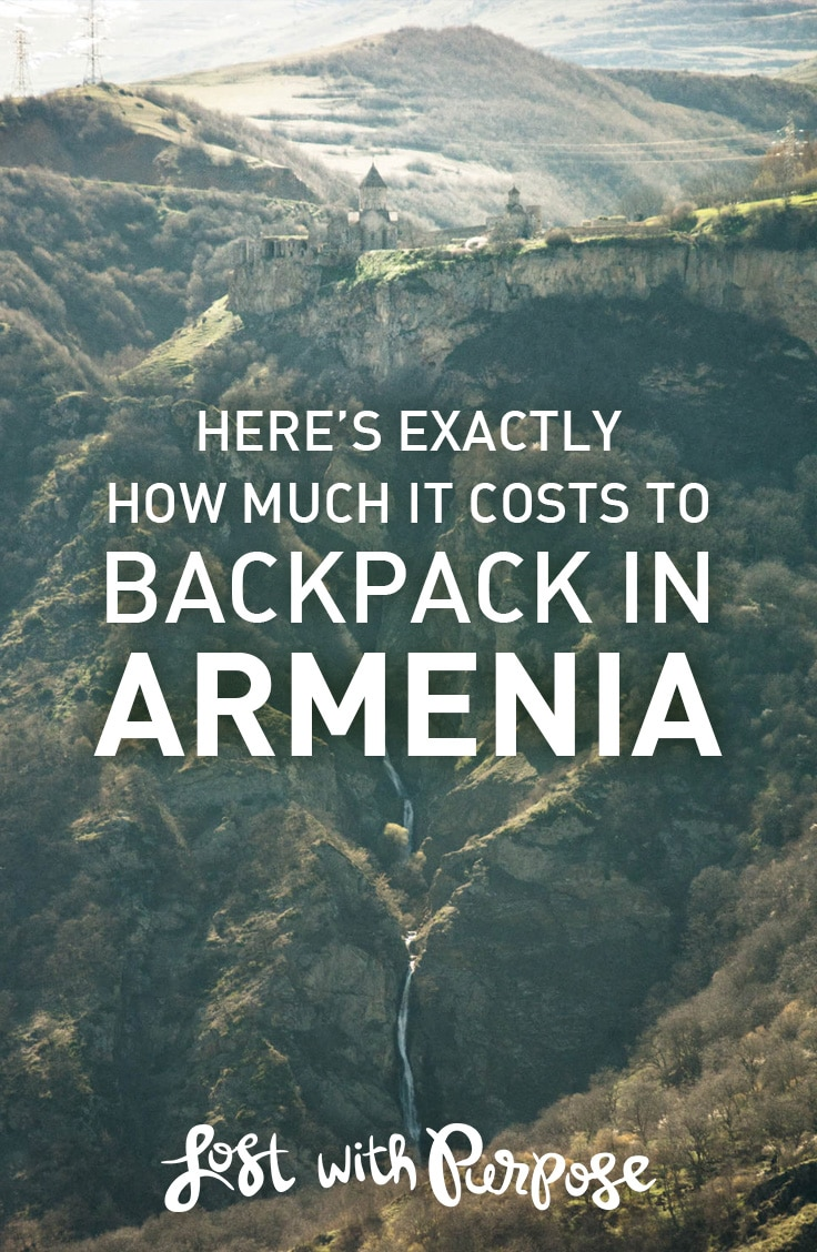 A detailed budget report for backpacking in Armenia. Includes total costs for several weeks of backpacking, a city-by-city breakdown of costs, average prices for common items, and more. Super handy for anyone planning to backpack through Armenia!