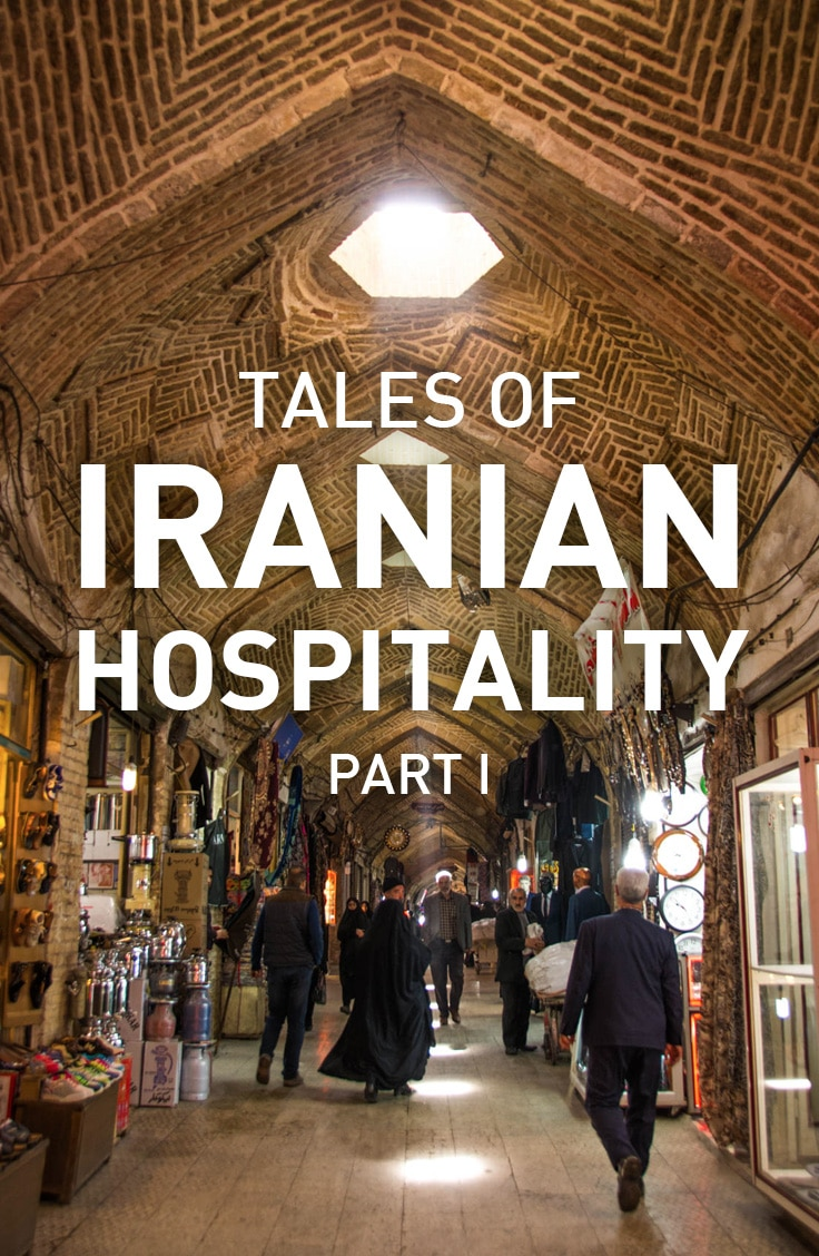 Iranian people are undoubtedly the most friendly people in the world, and here's proof: 3 tales of Iranian hospitality from 2 backpackers traveling in Iran.