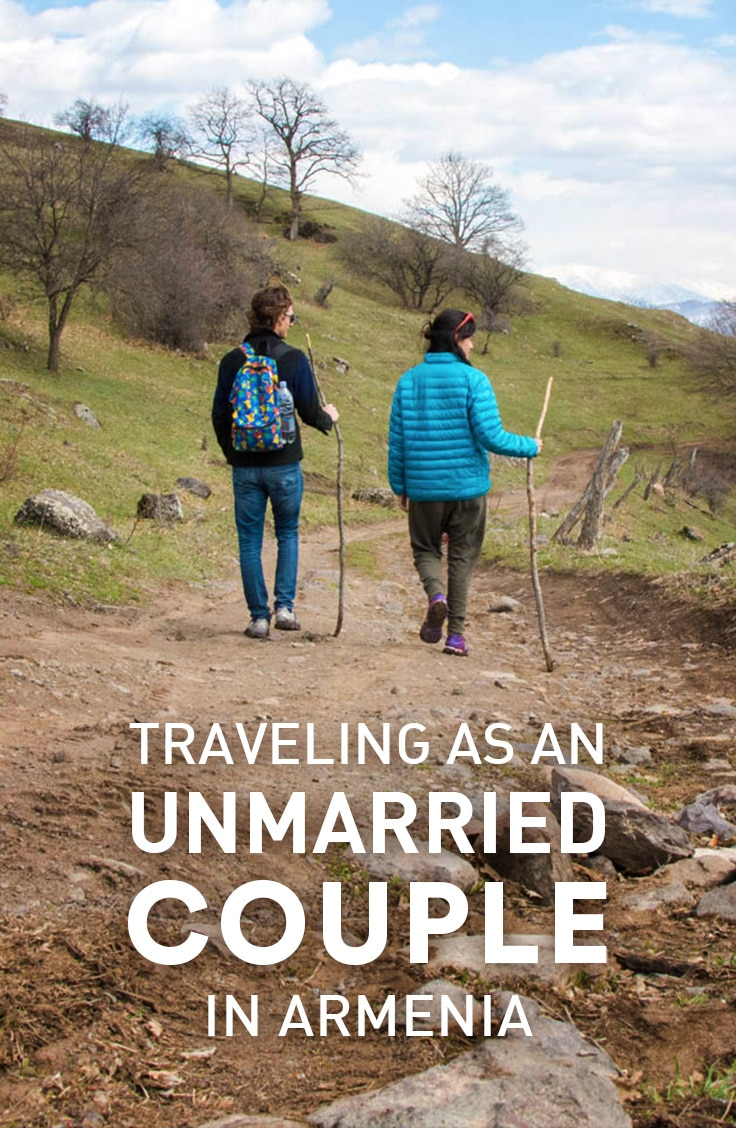 What it's like to travel as an unmarried couple in Armenia. From the responses we've gotten, to whether or not it's chill to book rooms as a pair.