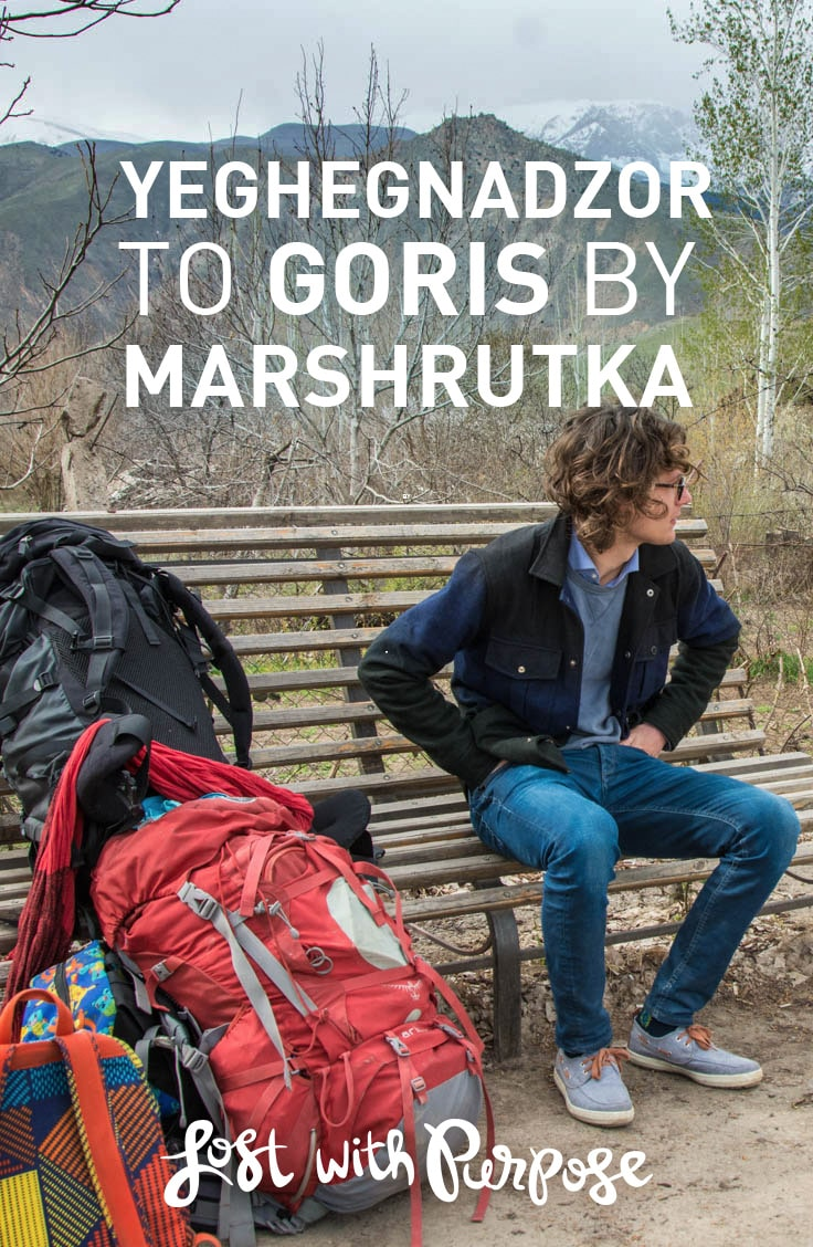 Everything you need to know to get from Yeghegnedzor, Armenia to the city of Goris by public transport, AKA marshrutka.