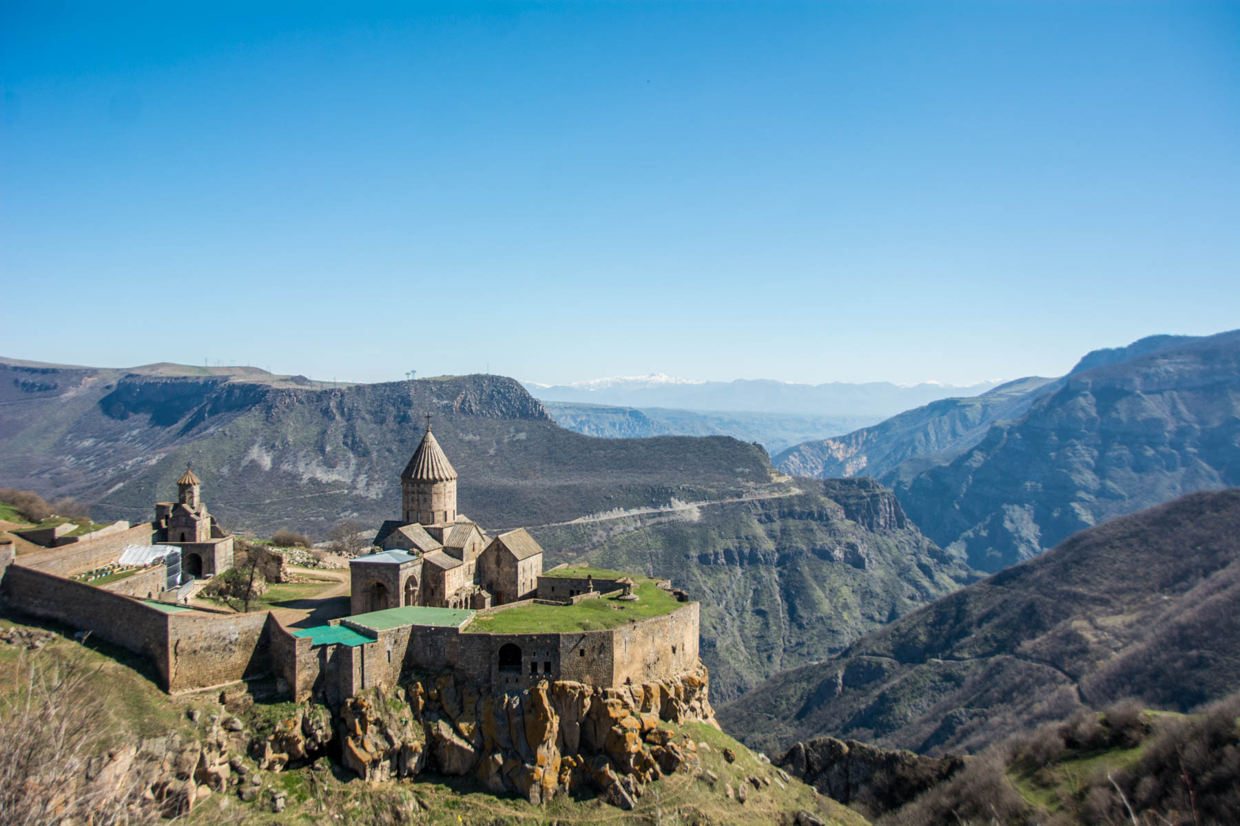 Why visit Armenia: The breathtaking monastery of Tatev, one of the most famous historical sites in Armenia.