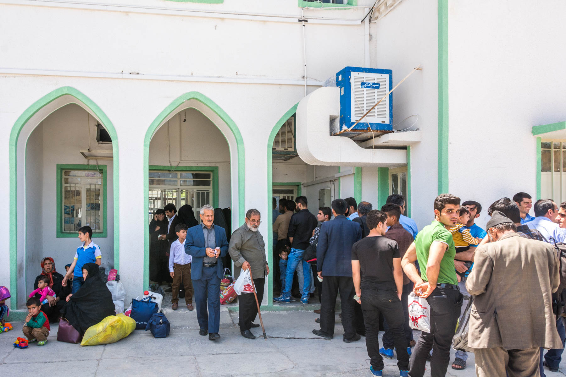 Line for traintickets Dorud Andimeshk, Iran