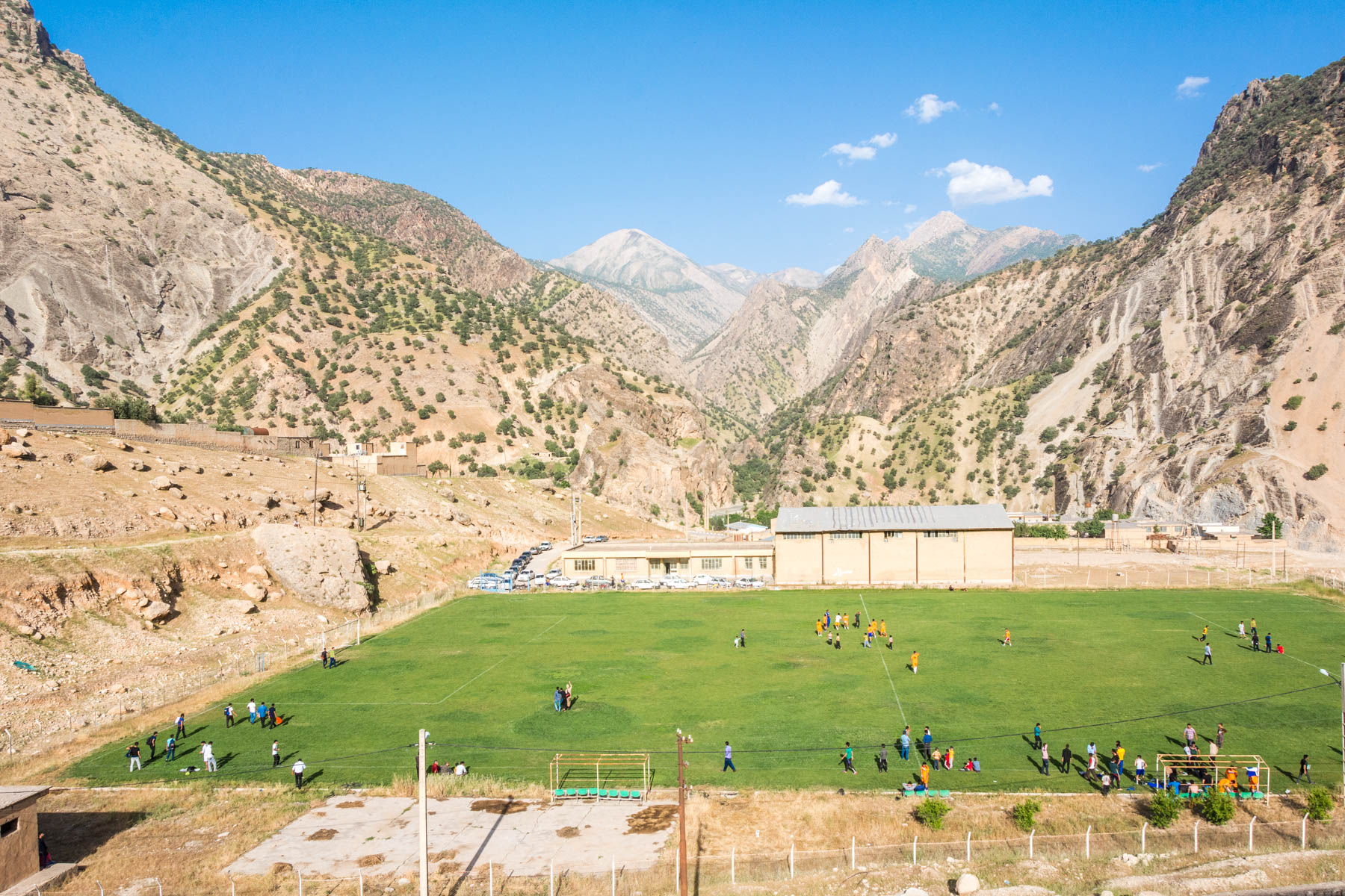 Football pitch Dorud Ansimeshk, Iran