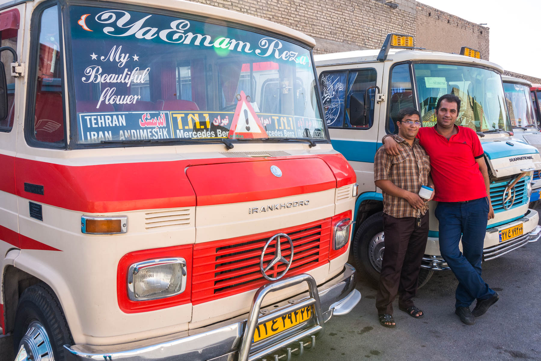 I'm foreign, so I must be rich: that's why I ride in cheap minibuses in Iran.