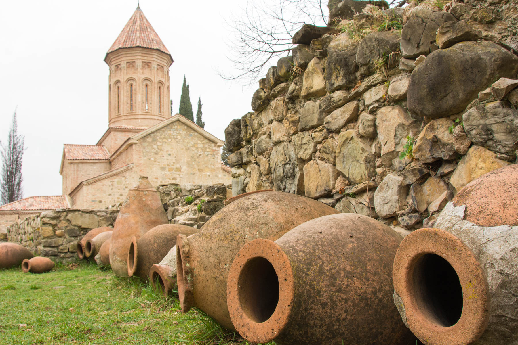 An old winery in Telavi, Georgia