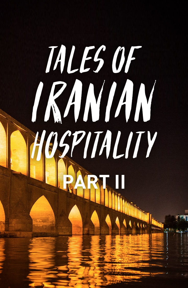 3 tales of Iranian hospitality from central and eastern Iran. Proof that Iranians are quite possibly the most hospitable people on earth!