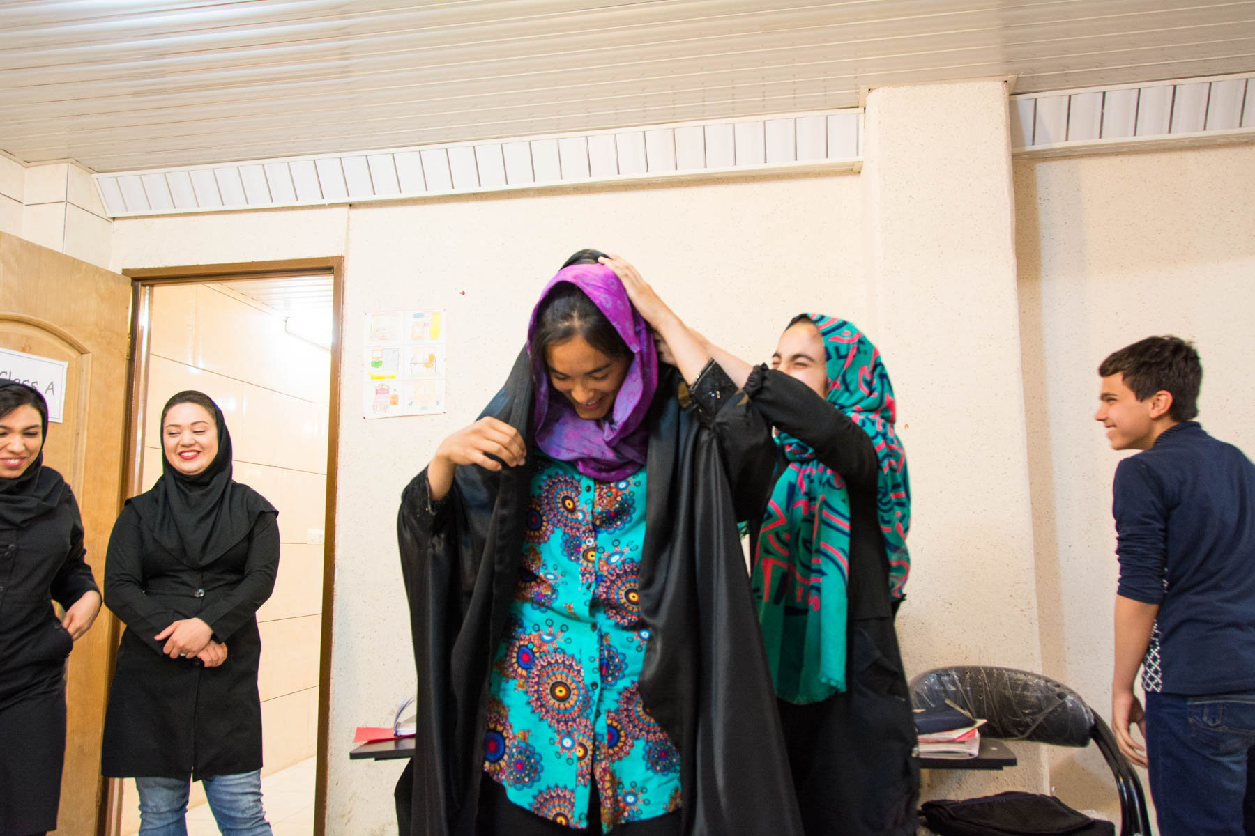 Women's travel tips for Iran: don't wear chador outside of mosques.