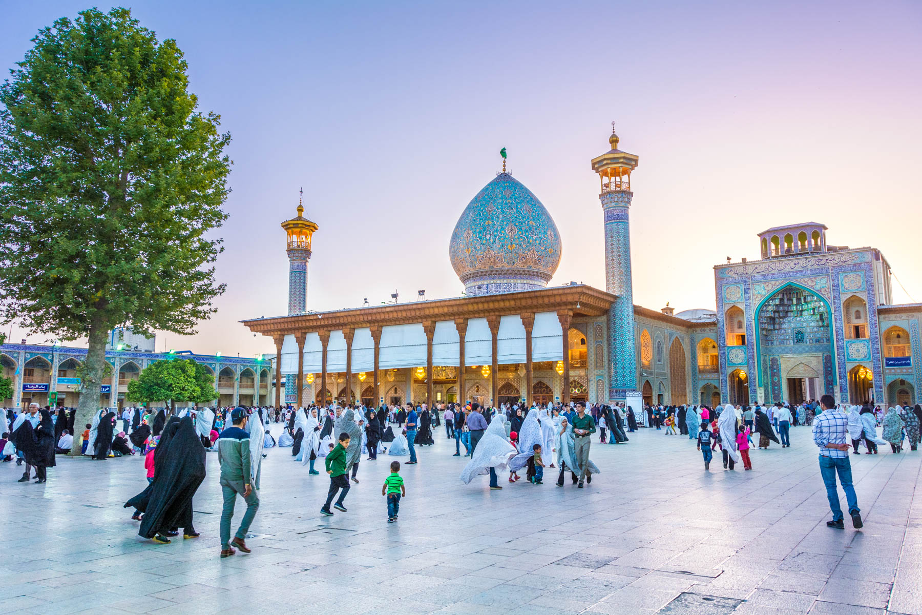Women's travel tips for Iran: where to enter mosques and shrines.