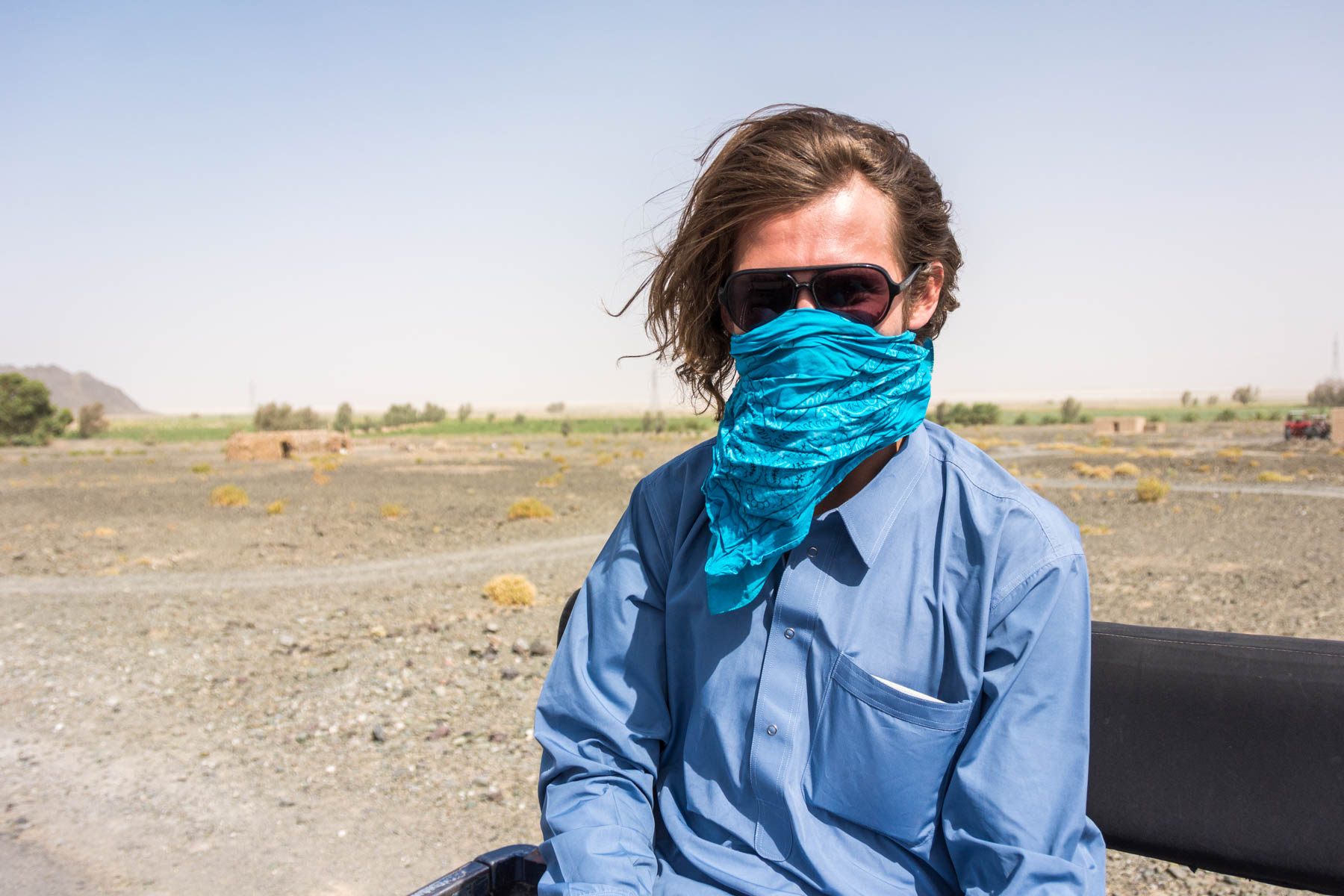 Vulnerable during the longest border crossing in the world, from Iran to Pakistan