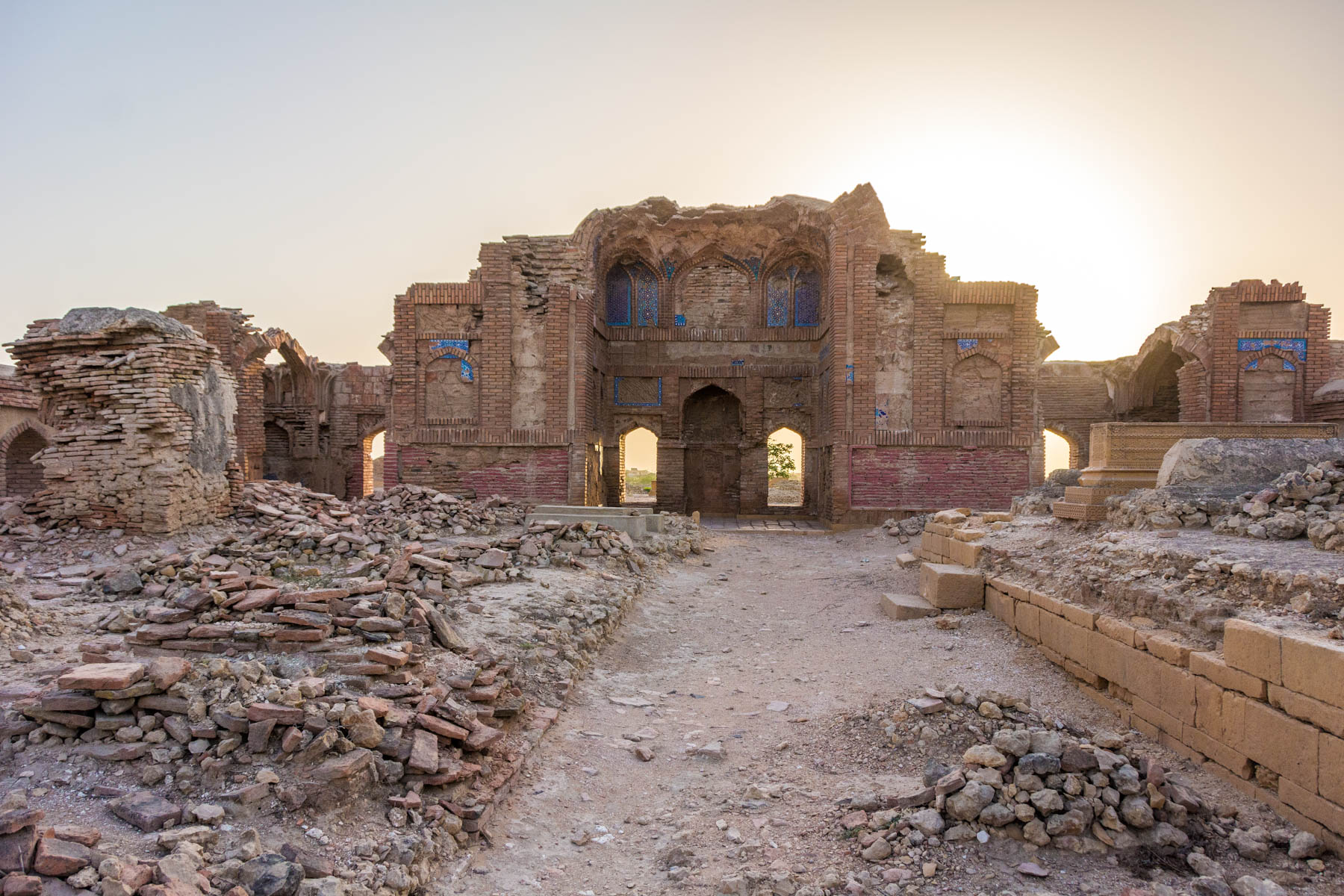 Ruins at Makli Hill in Pakistan