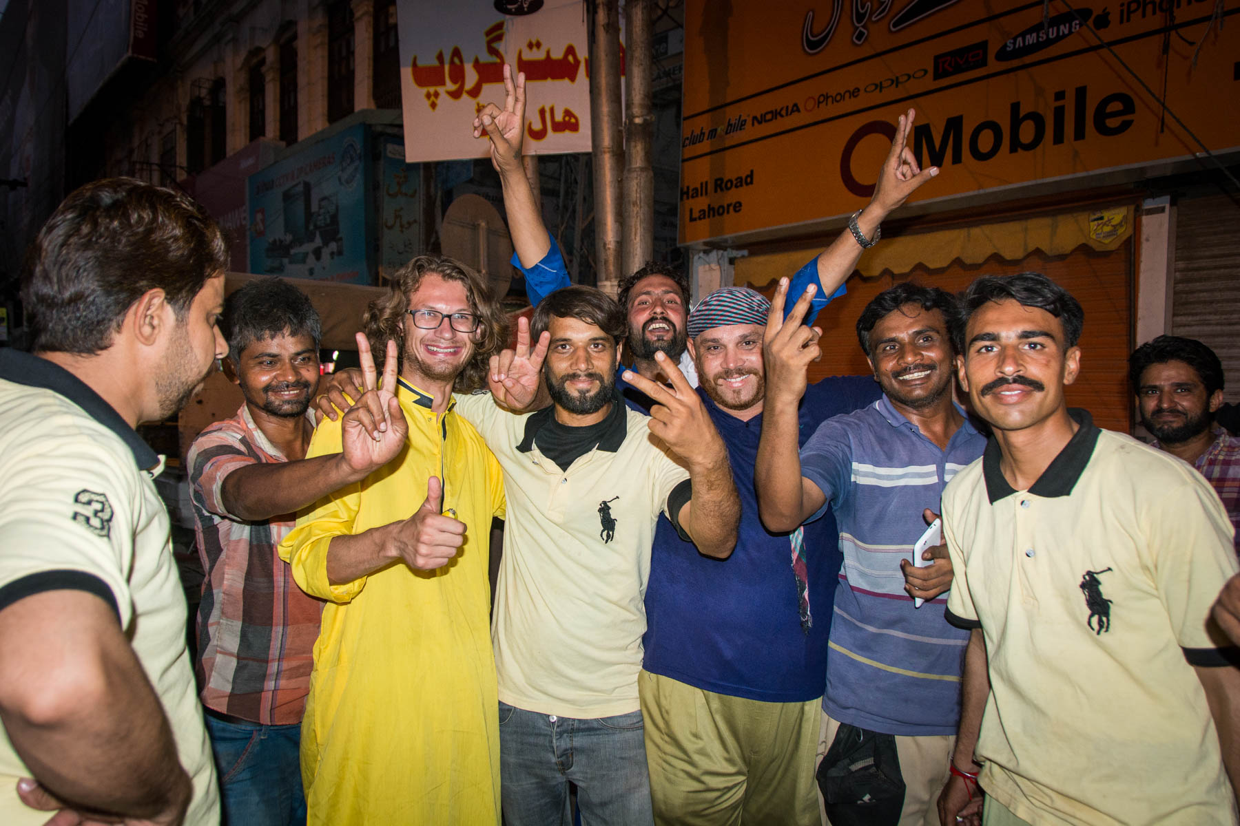 Smiling faces on the streets of Karachi, Pakistan