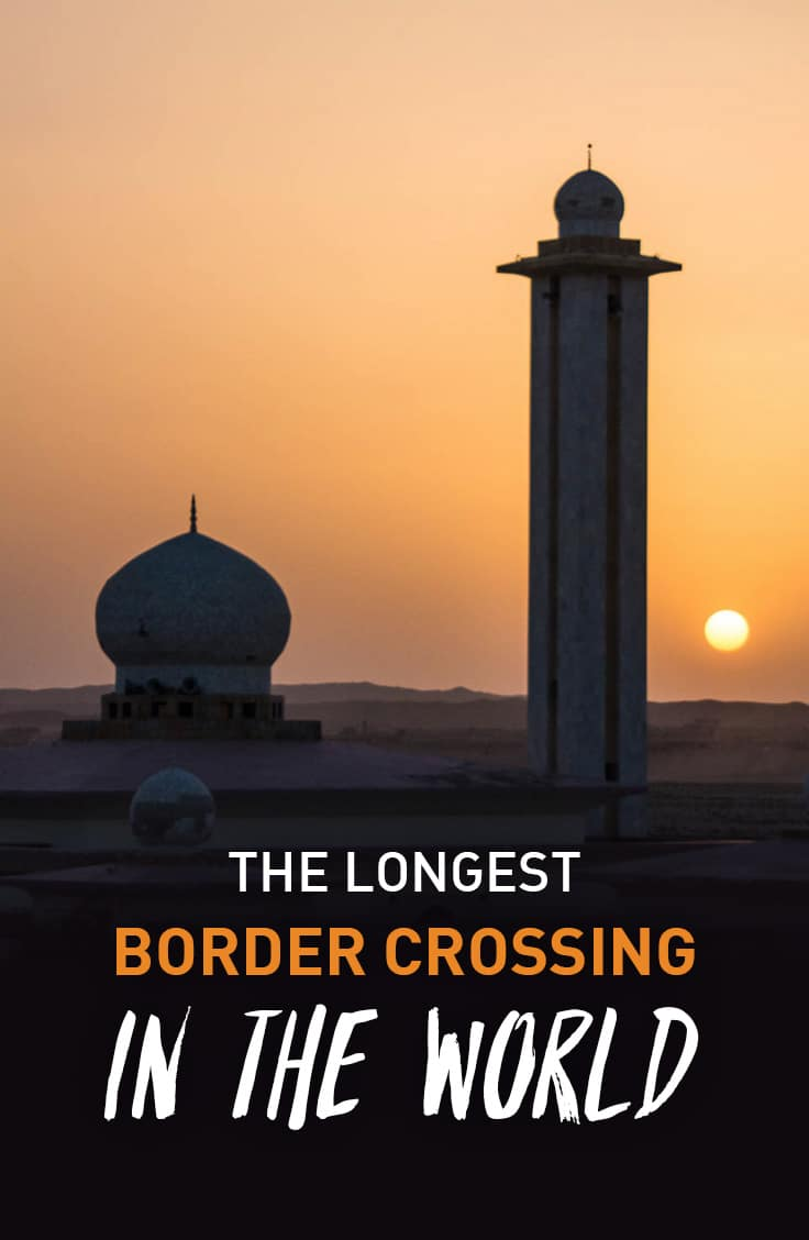5 days, 733 kilometers, 26 vehicles, 12 checkpoints, and a whole lot of dust. A story about what could very well be the longest border crossing process in the world.