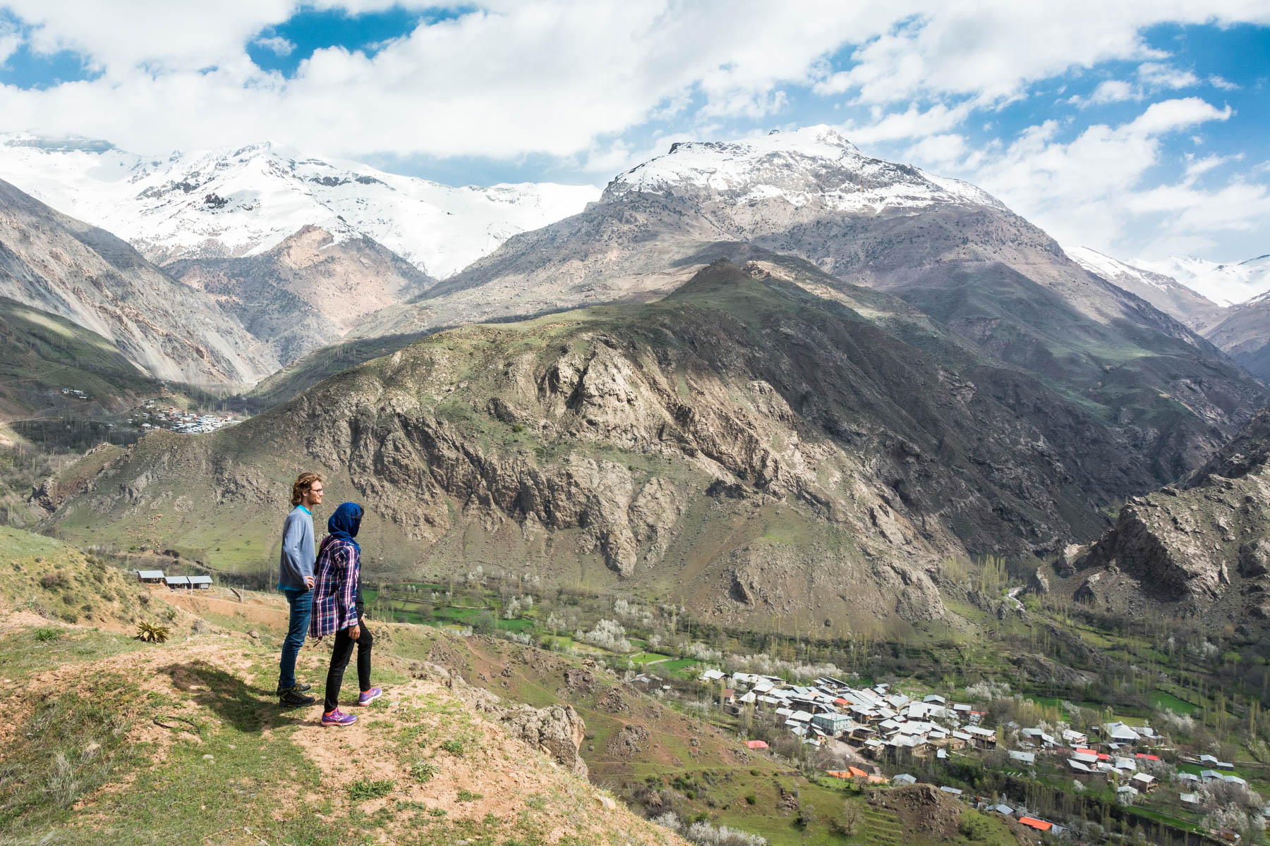 Basking in the awesome that is the Alamut Valley in Iran, home to the Castles of the Assassins