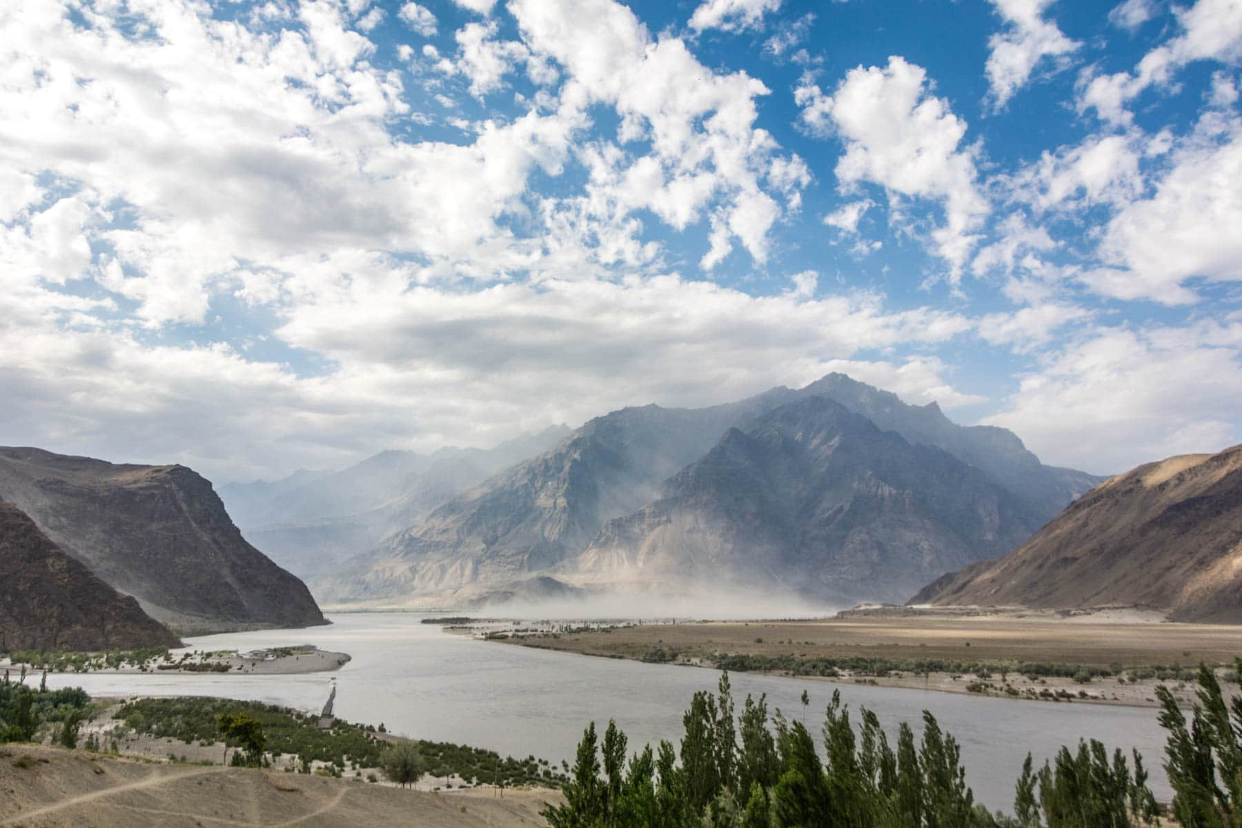 Where do I need security in Pakistan: Skardu