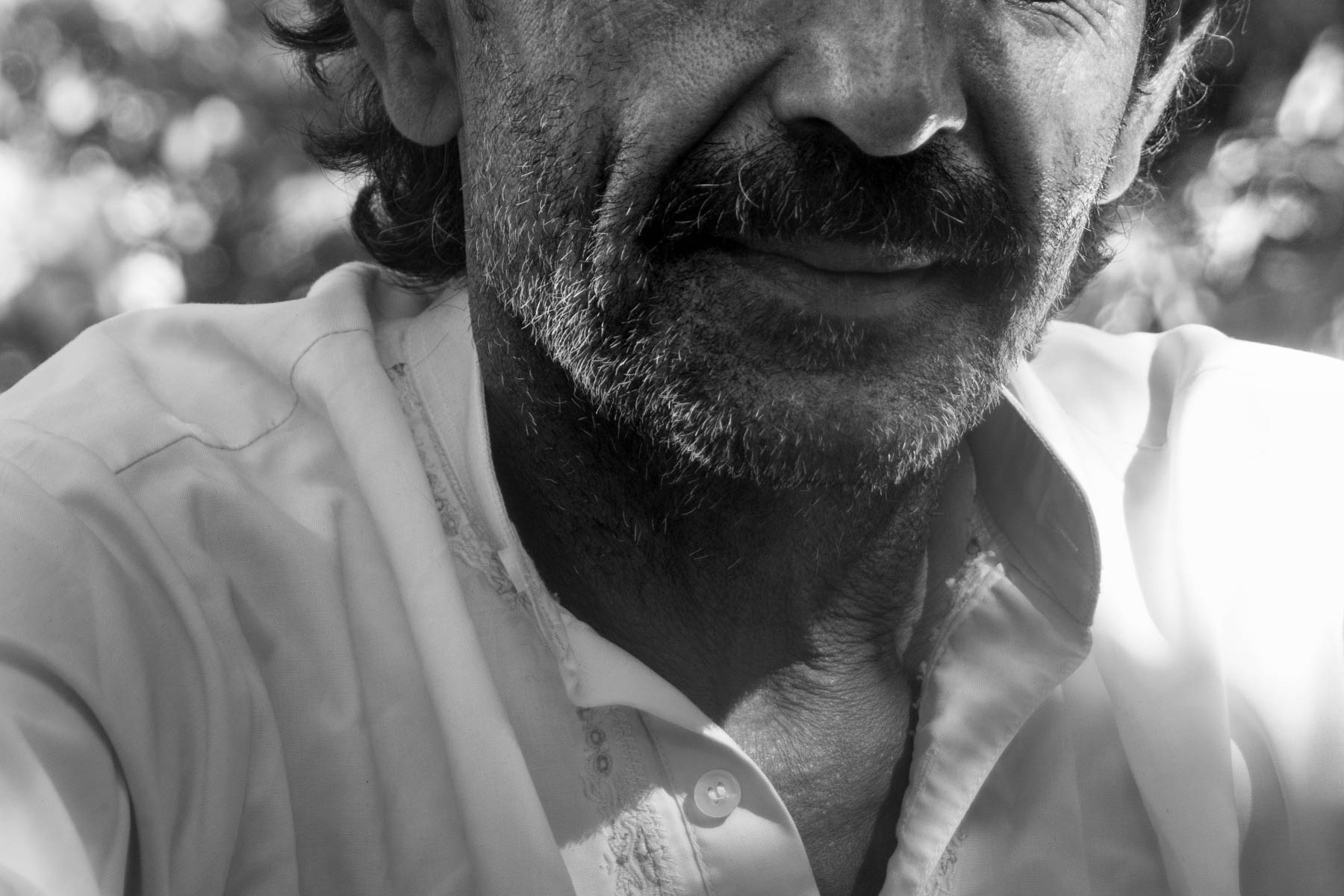 The shaman, whom we met while rolling with the stoners in Hunza, Pakistan