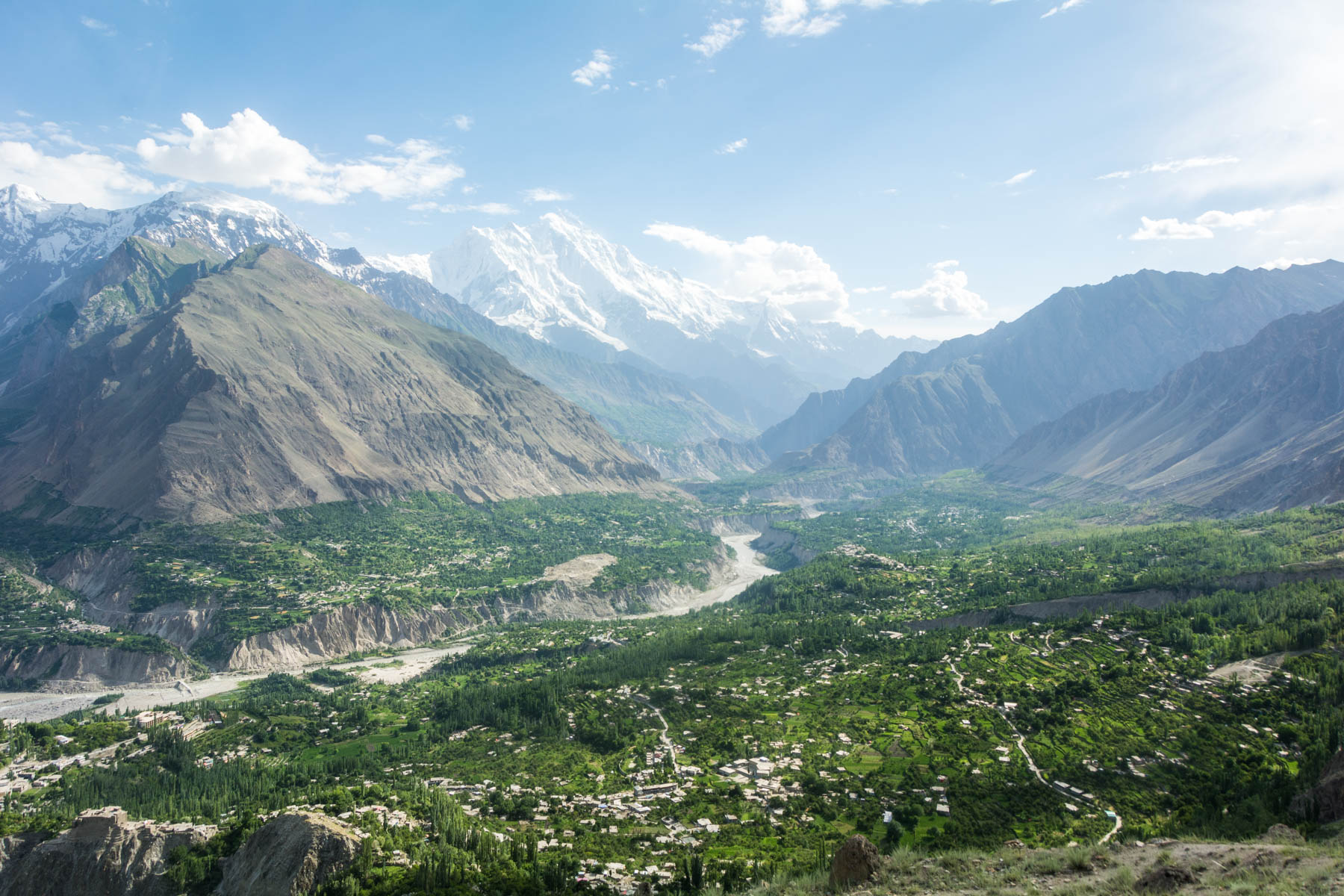 Where do I need security in Pakistan: Karimabad