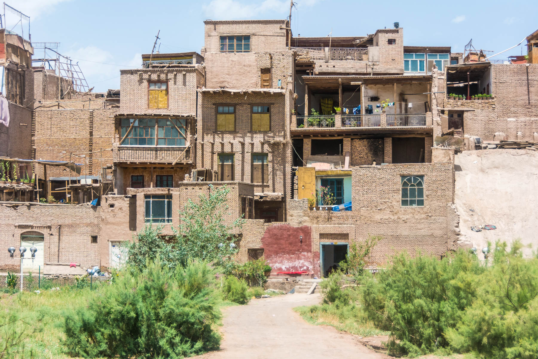 The last true remnants of the Kashgar Old Town.