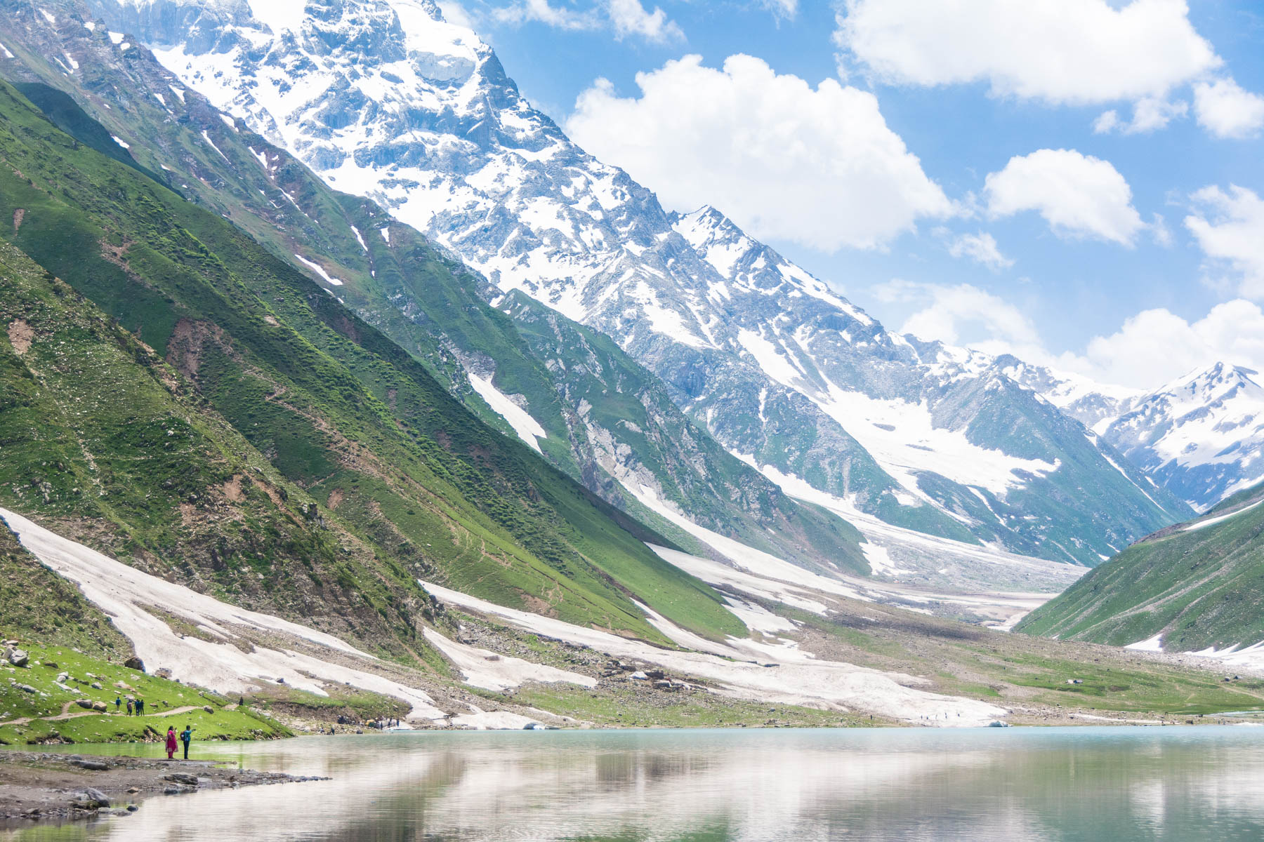 Saif al Mulk lake near Naran, Pakistan