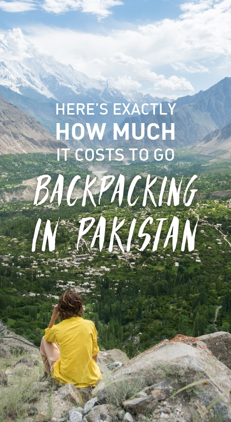 Considering a trip to Pakistan? In short, DO IT! But for planning's sake, it's probably good to know how much it costs to go backpacking in Pakistan. To help you out, here's a breakdown of our expenses over six weeks of backpacking all throughout Pakistan.