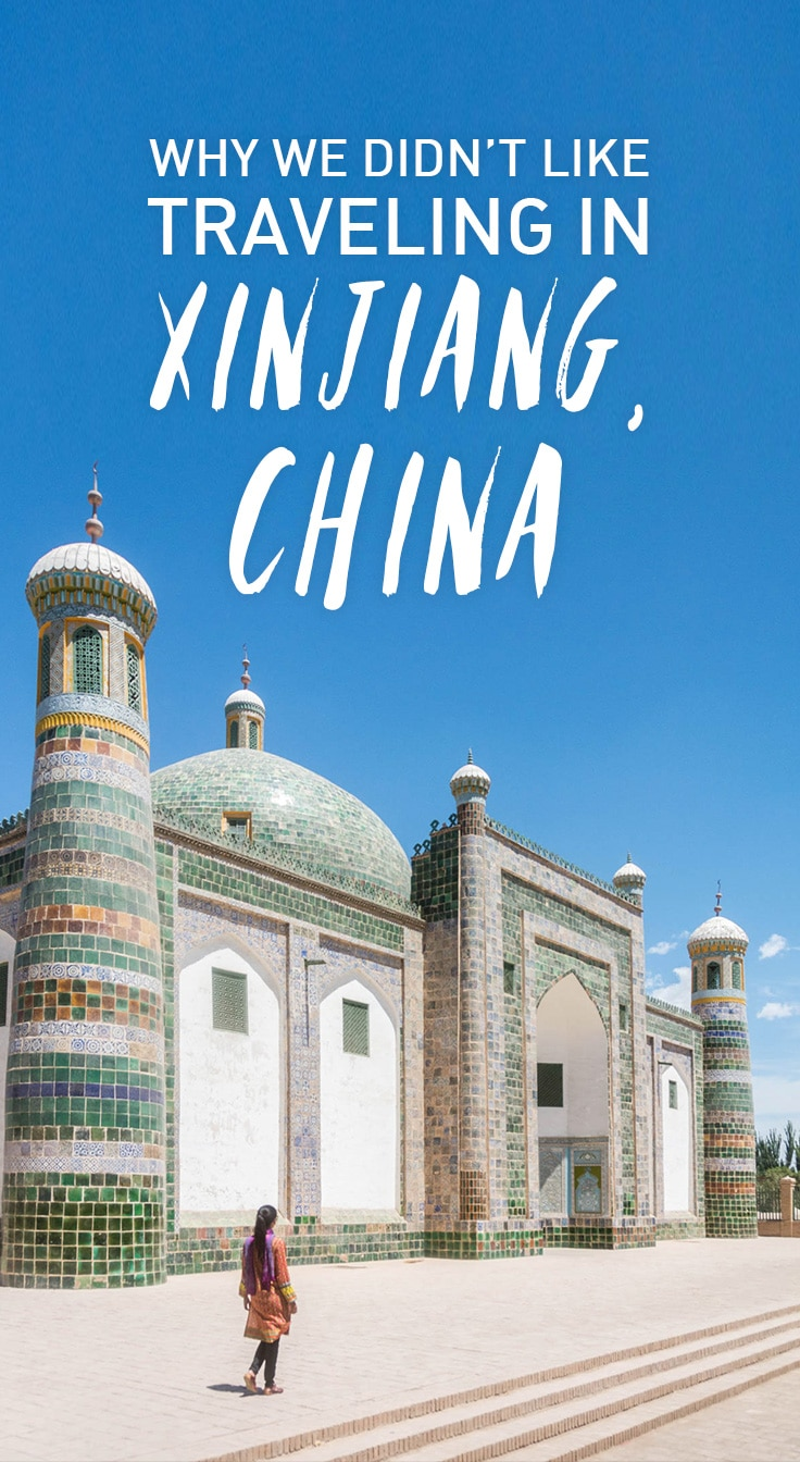 Travel doesn't always live up to your expectations, and that happened to us in Xinjiang, China. Here's why we didn't like traveling in Xinjiang, China.