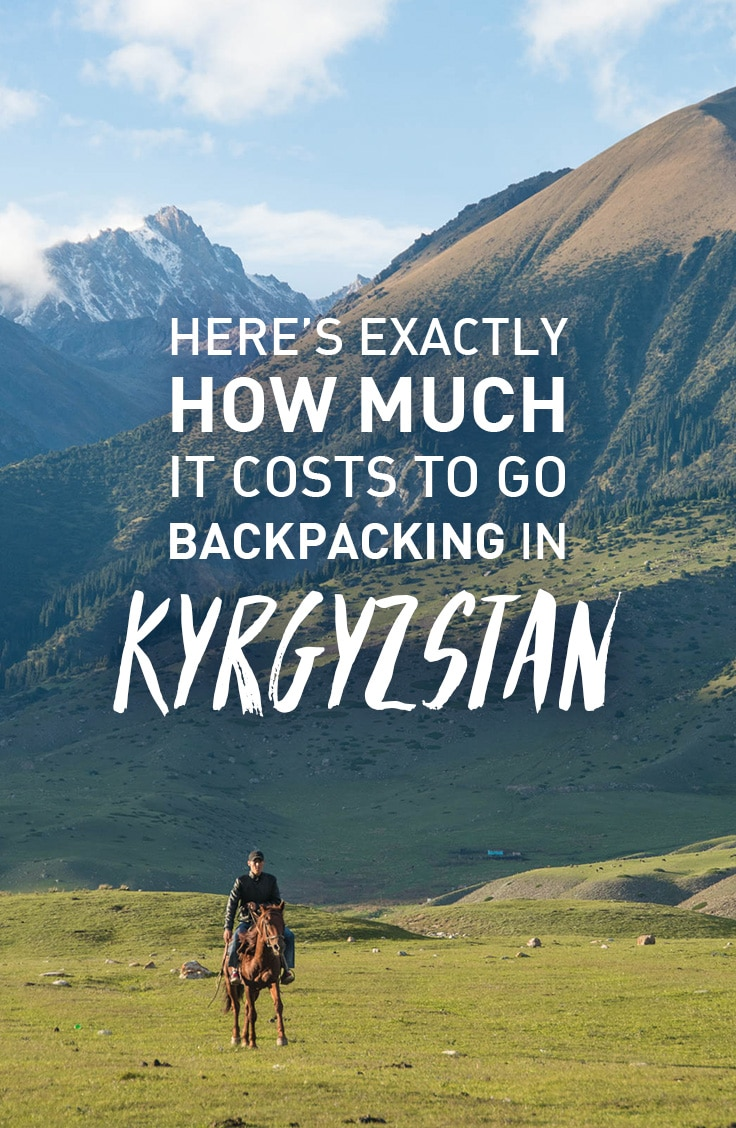 A detailed budget report from 26 days of backpacking in Kyrgyzstan, including average costs spent on accommodation, food, transport, and a city-by-city breakdown. Click to find out exactly how much it costs to go backpacking in Kyrgyzstan.