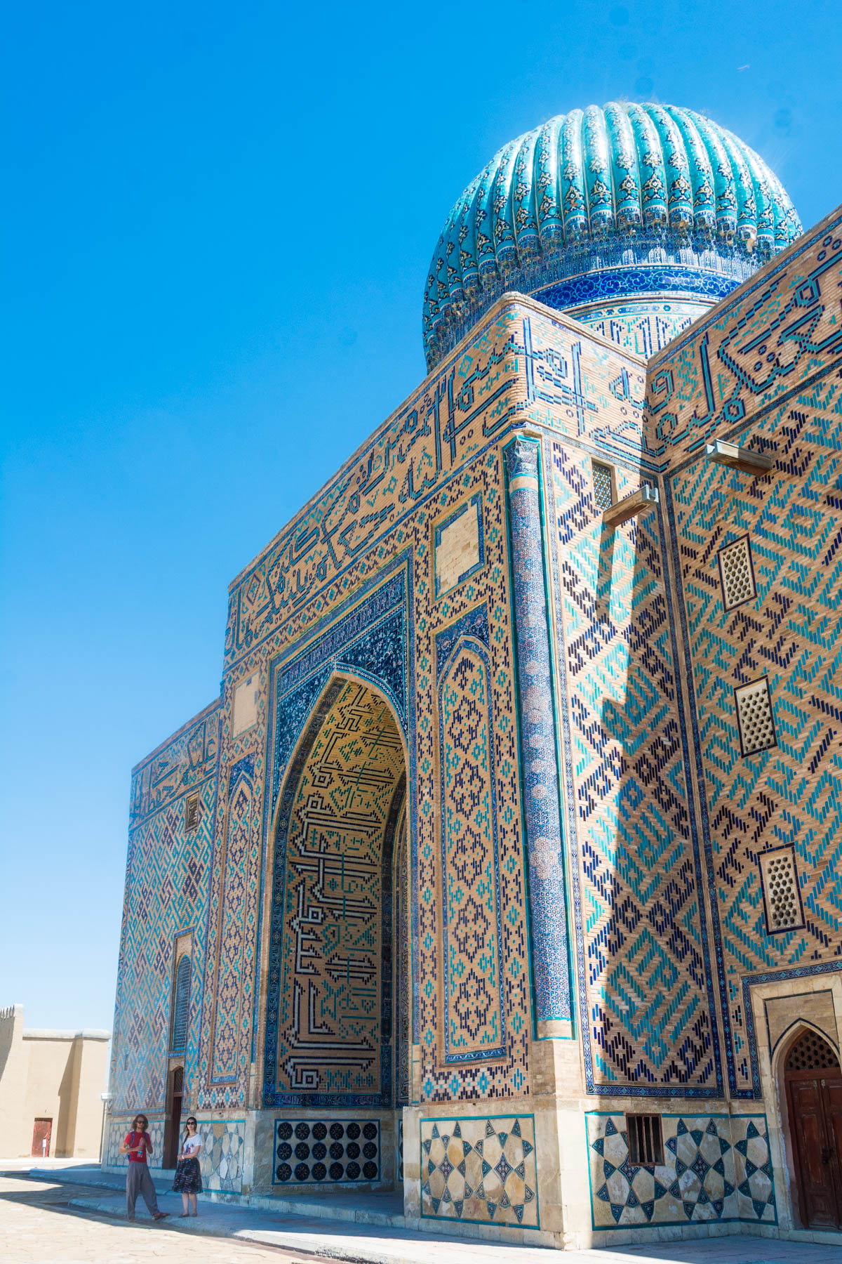 The mausoleum of Khoja Ahmed Yasawi - Lost With Purpose