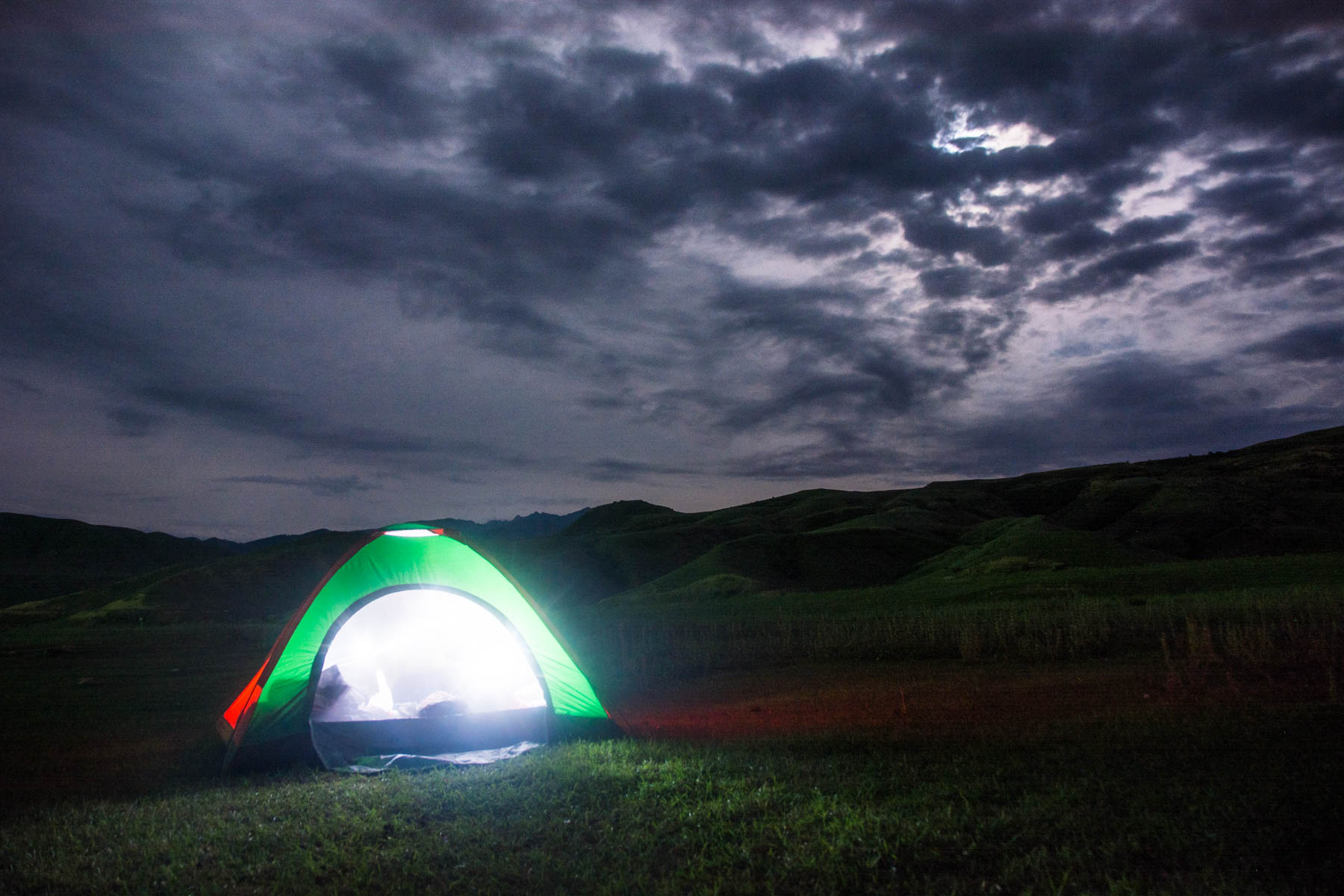 Camping to save money in Saty, Kazakhstan - Lost With Purpose