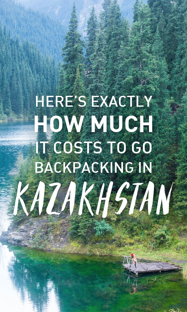 Considering a trip to Kazakhstan? Here's our budget report from two weeks of backpacking so you know exactly how much it costs to backpack in the Almaty region of Kazakhstan. Perfect for those interested in taking advantage of Kazakhstan's two week visa-free travel program. Includes average costs of things like accommodation, food, and transport, as well as a city-by-city breakdown of costs.