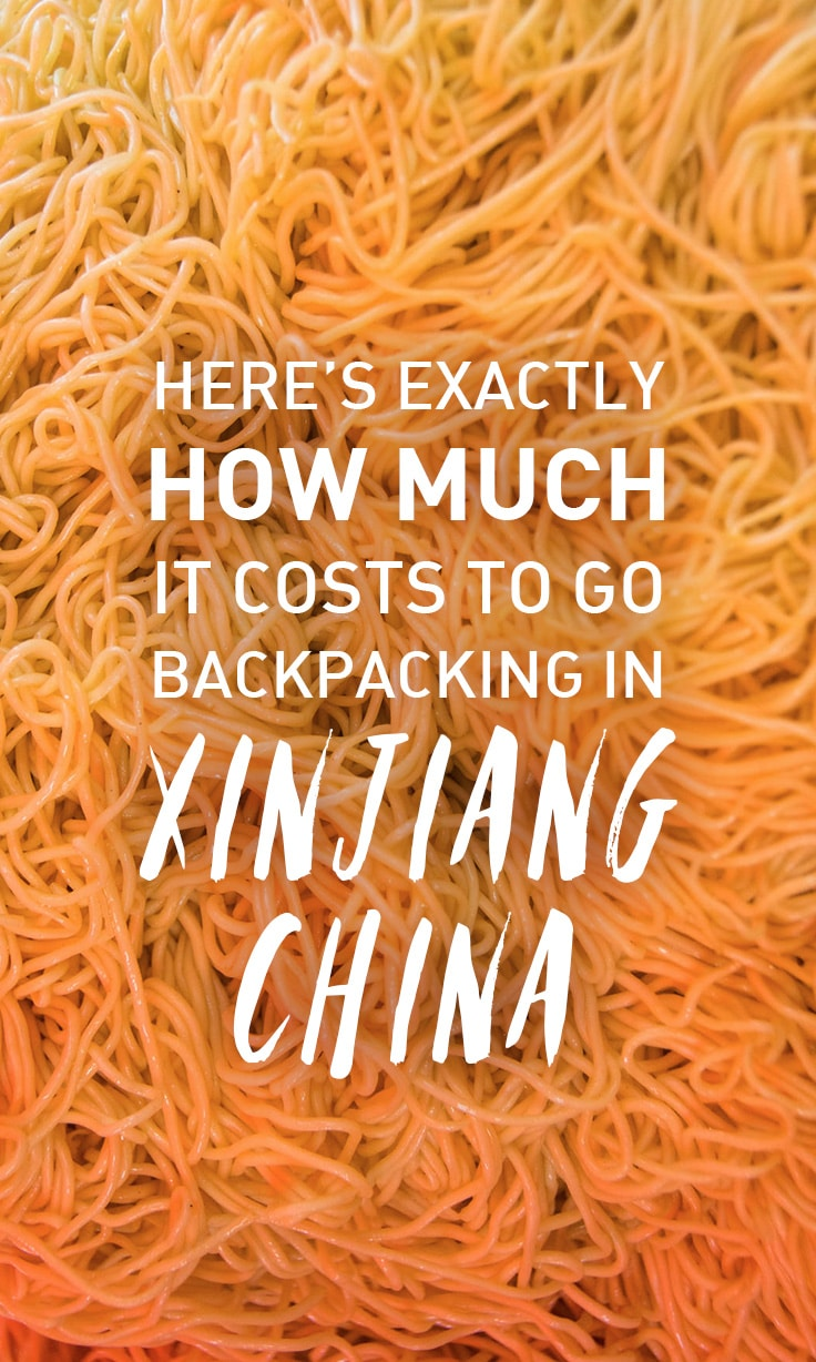 Planning a backpacking trip through Xinjiang, China? Here's exactly how much it costs to go backpacking in Xinjiang, China. Includes a city-by-city breakdown, transportation costs, food costs, etc.