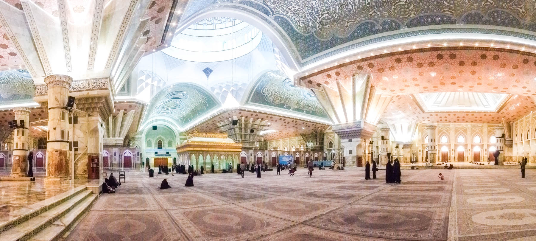 A mobile panorama of Imam Khomeini shrine in Tehran, Iran - Lost With Purpose
