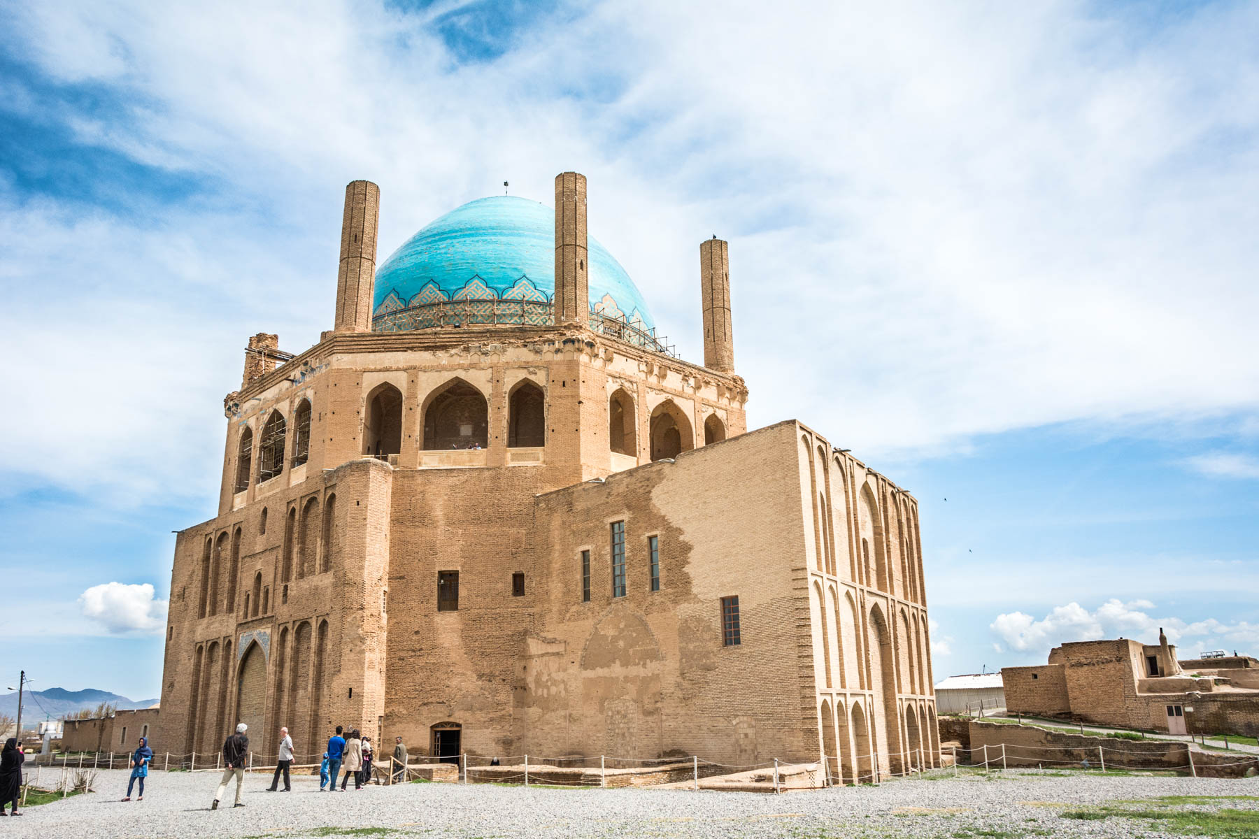 The dome of Soltaniyeh in Soltaniyeh, Iran - Lost With Purpose