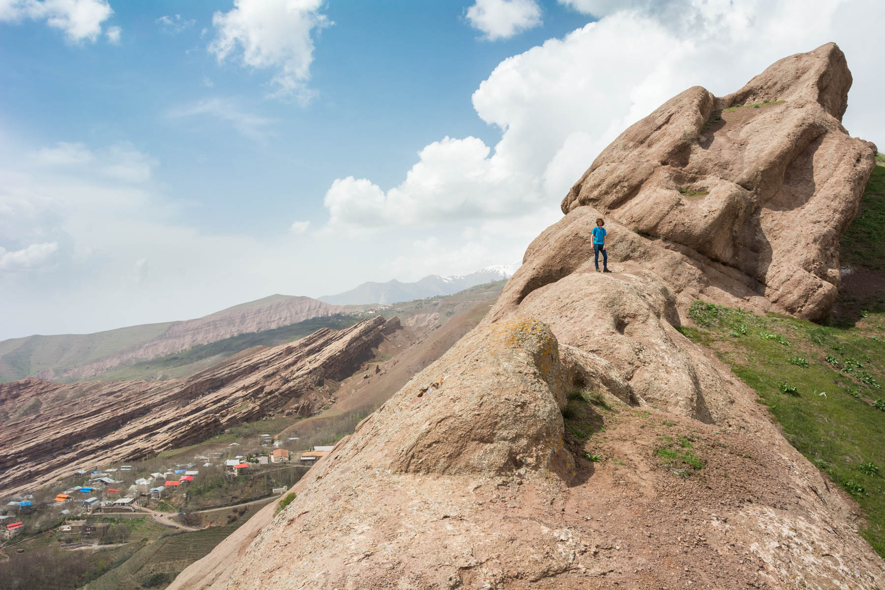 The epic view from one of the Castles of the Assassins in the Alamut Valley, Iran - Lost With Purpose