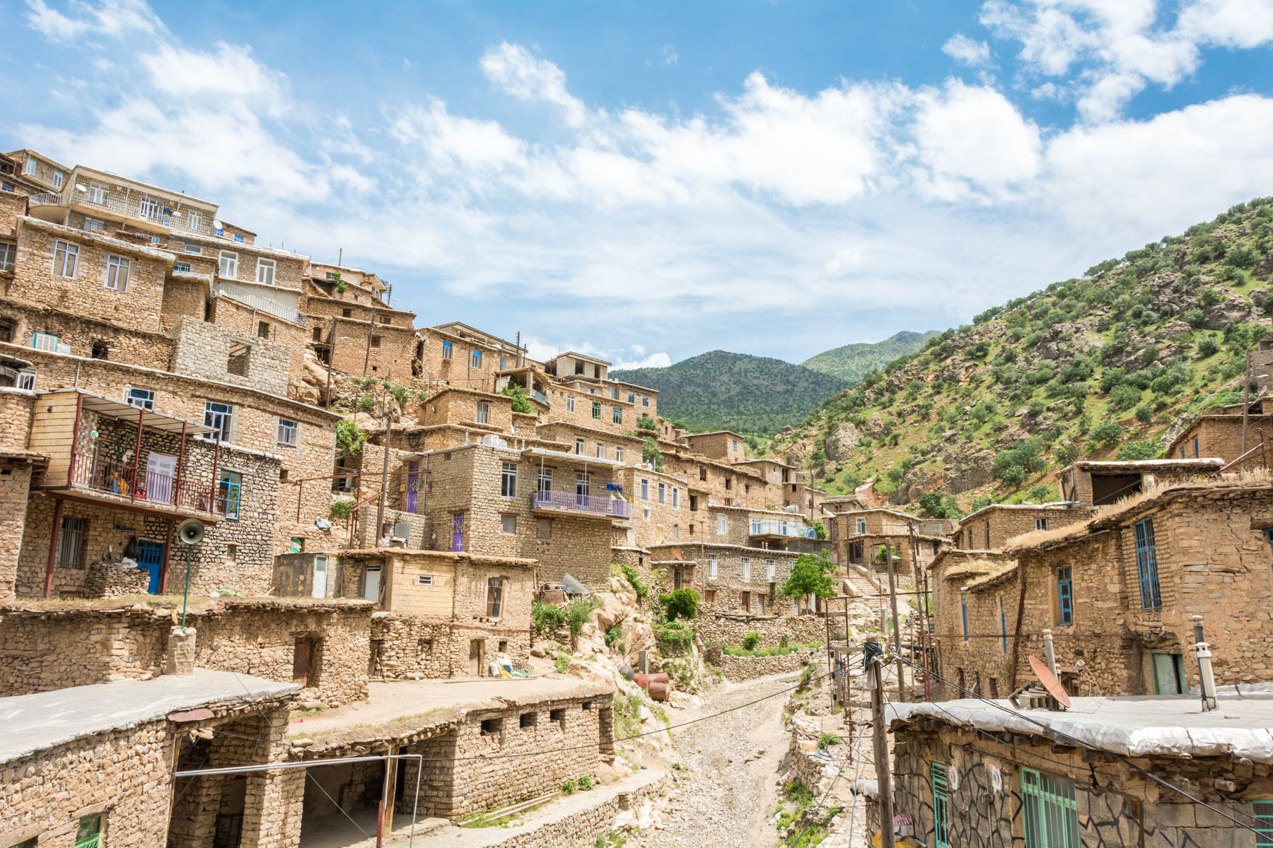 Off the beaten track highlights in Iran: The stepped village of Palangan in Kurdistan, Iran - Lost WIth Purpose