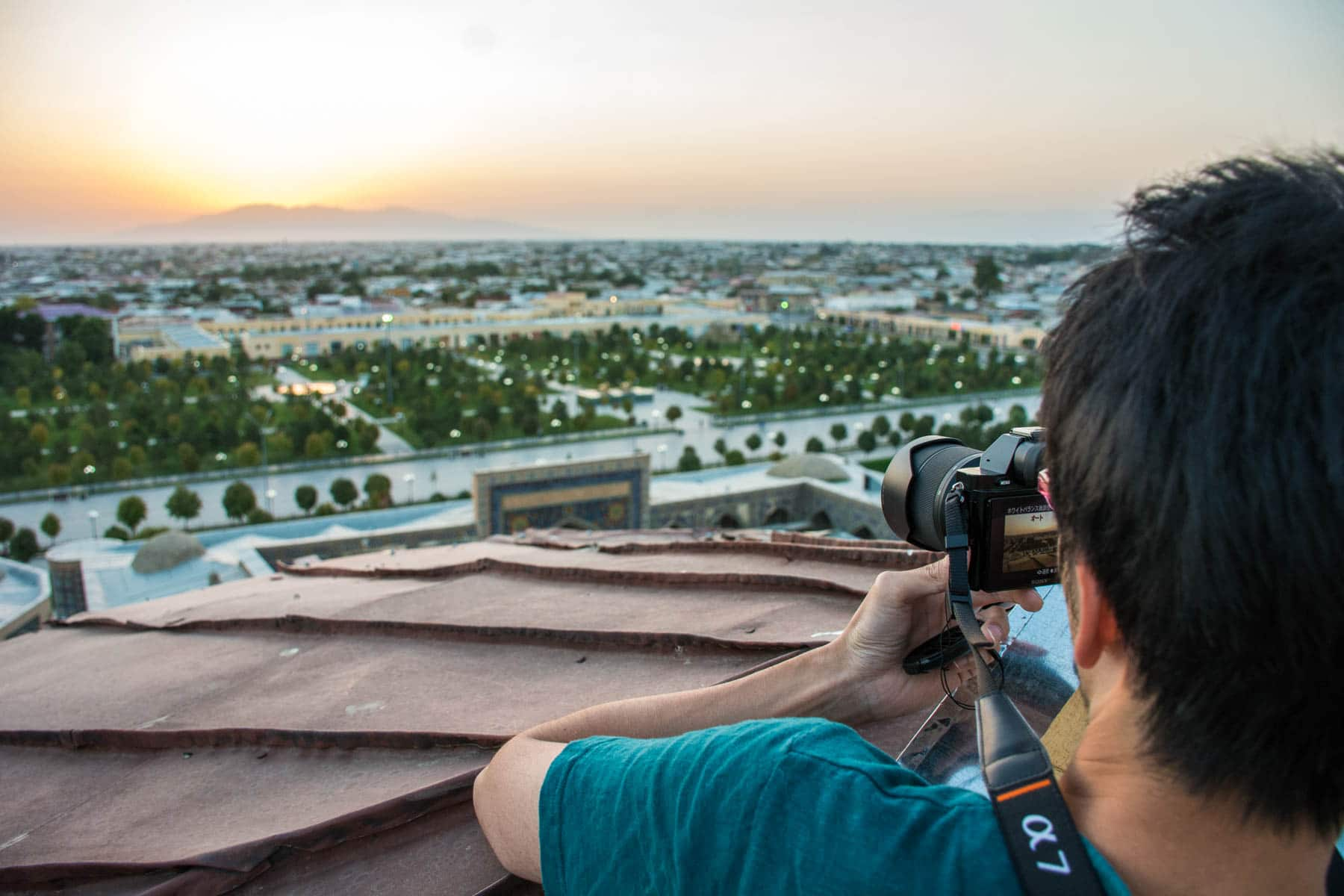 Why you need to see Uzbekistan at sunrise - Watching sunrise from a minaret - Lost WIth Purpose