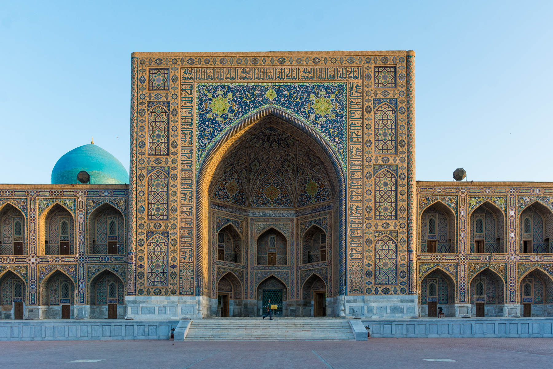 Why you need to see sunrise in Uzbekistan - sunrise at the Registan - Lost With Purpose
