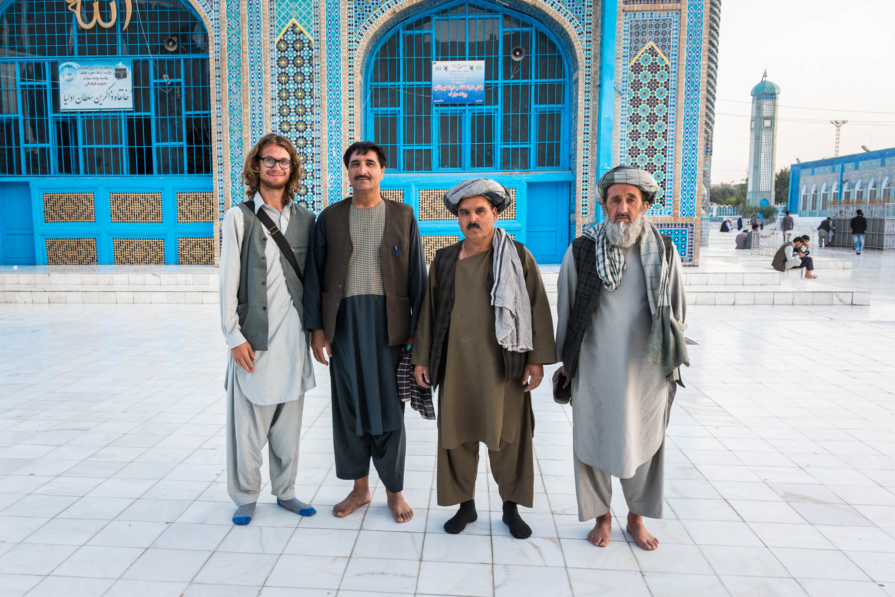 Men in Mazar-i-Sharif, Afghanistan - Lost With Purpose