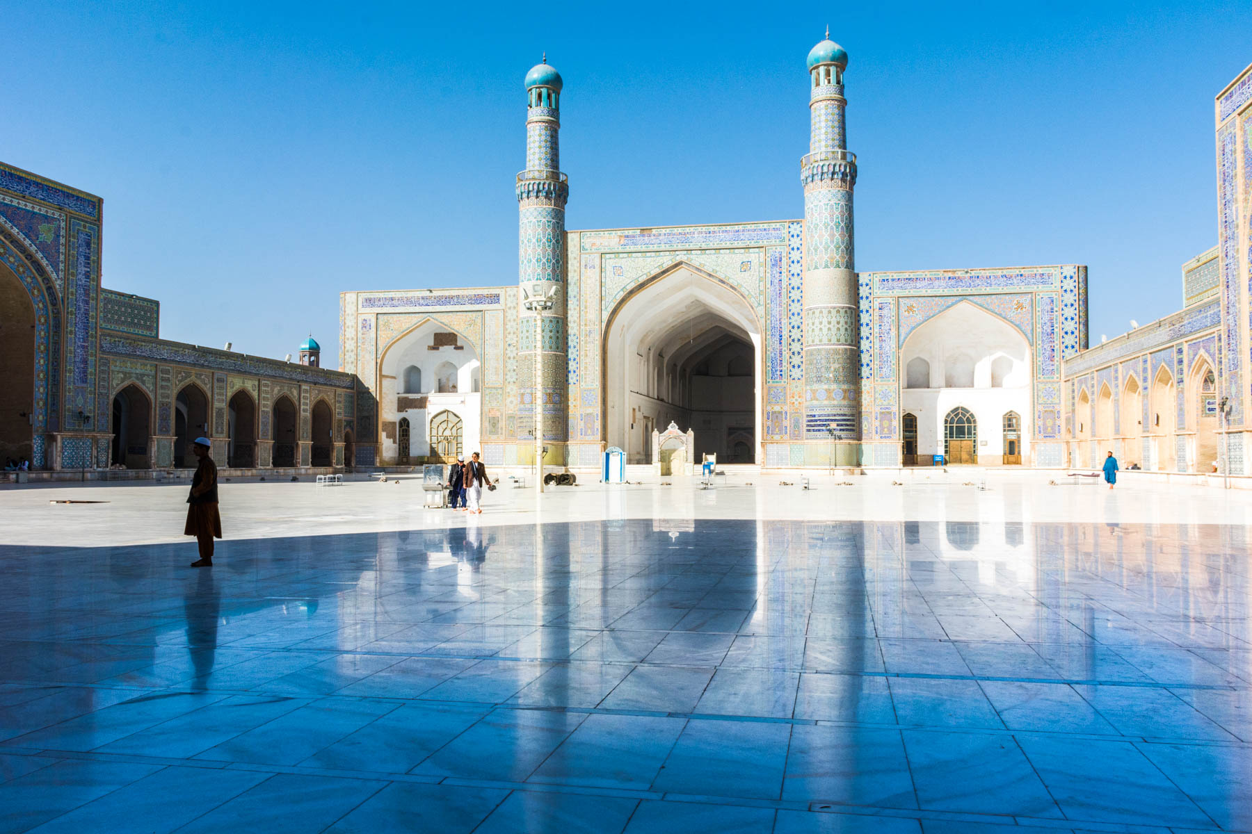 The Jame Masjid, Friday Mosque, in Herat, Afghanistan - Lost With Purpose