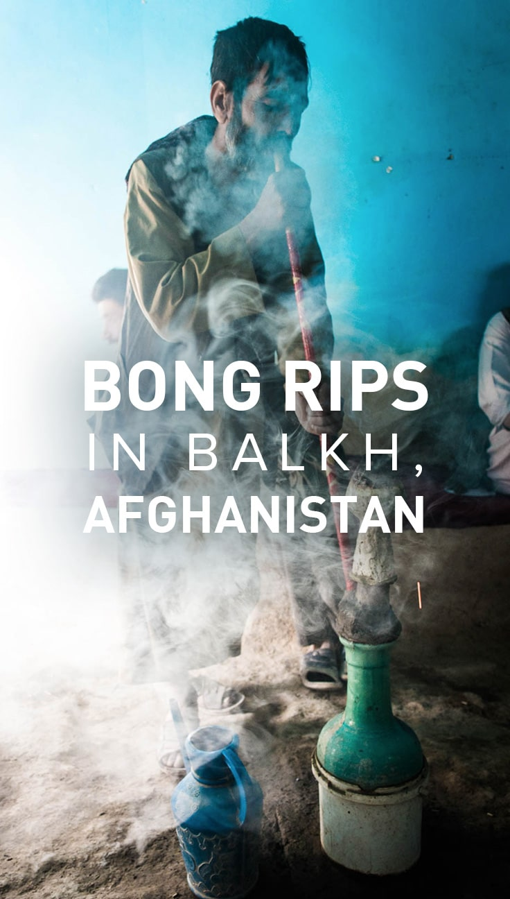 One hell of a travel story: two backpackers in Afghanistan. The ruins of the capital of the Bactrian empire. Angry men with beards and turbans. And... a bong?!