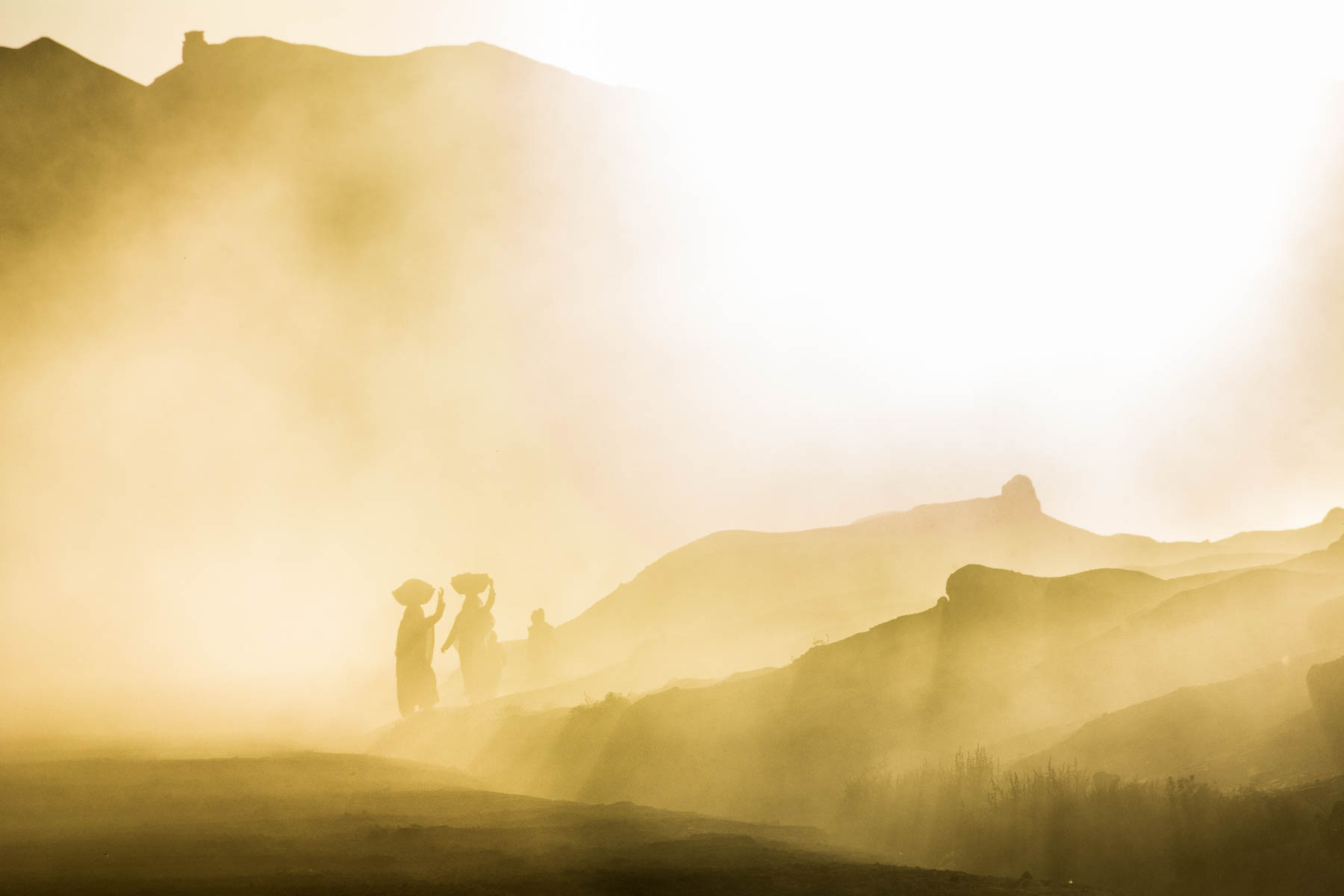 Local women walking at sunset in Bamiyan, Afghanistan - Lost With Purpose