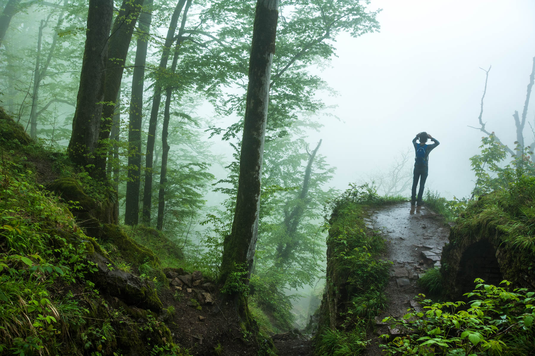 Misty anonymity at Qaleh Rudkhan in Iran - Why you should always use a VPN, even when not traveling - Lost With Purpose
