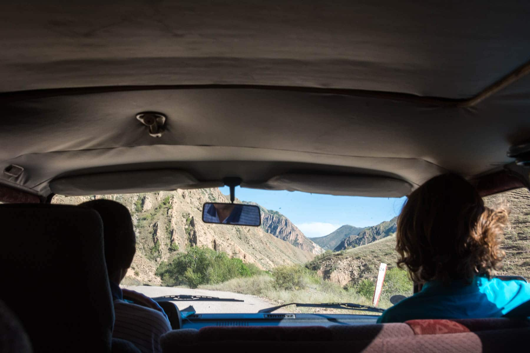 Driving to Min Kush, Kyrgyzstan - Lost With Purpose