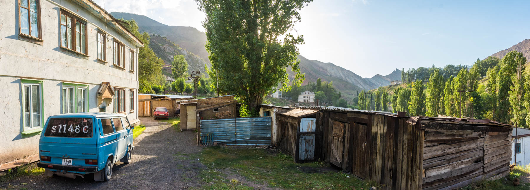 A panoramic view of Min Kush, Kyrgyzstan - Lost With Purpose