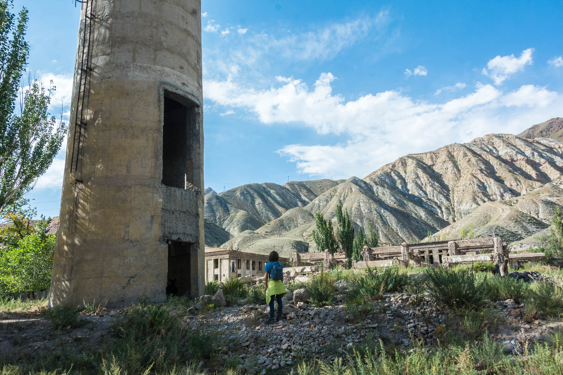 Abandoned Soviet factories and towers in Min Kush, Kyrgyzstan - Lost With Purpose