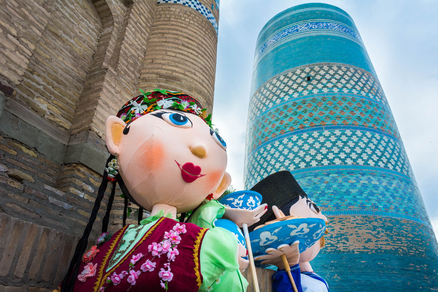 Puppets in Khiva, Uzbekistan - Lost With Purpose